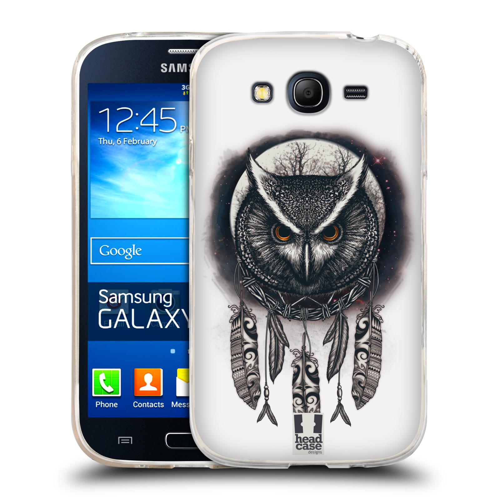 Silikonové pouzdro na mobil Samsung Galaxy Grand Neo Plus - Head Case - Soví lapač