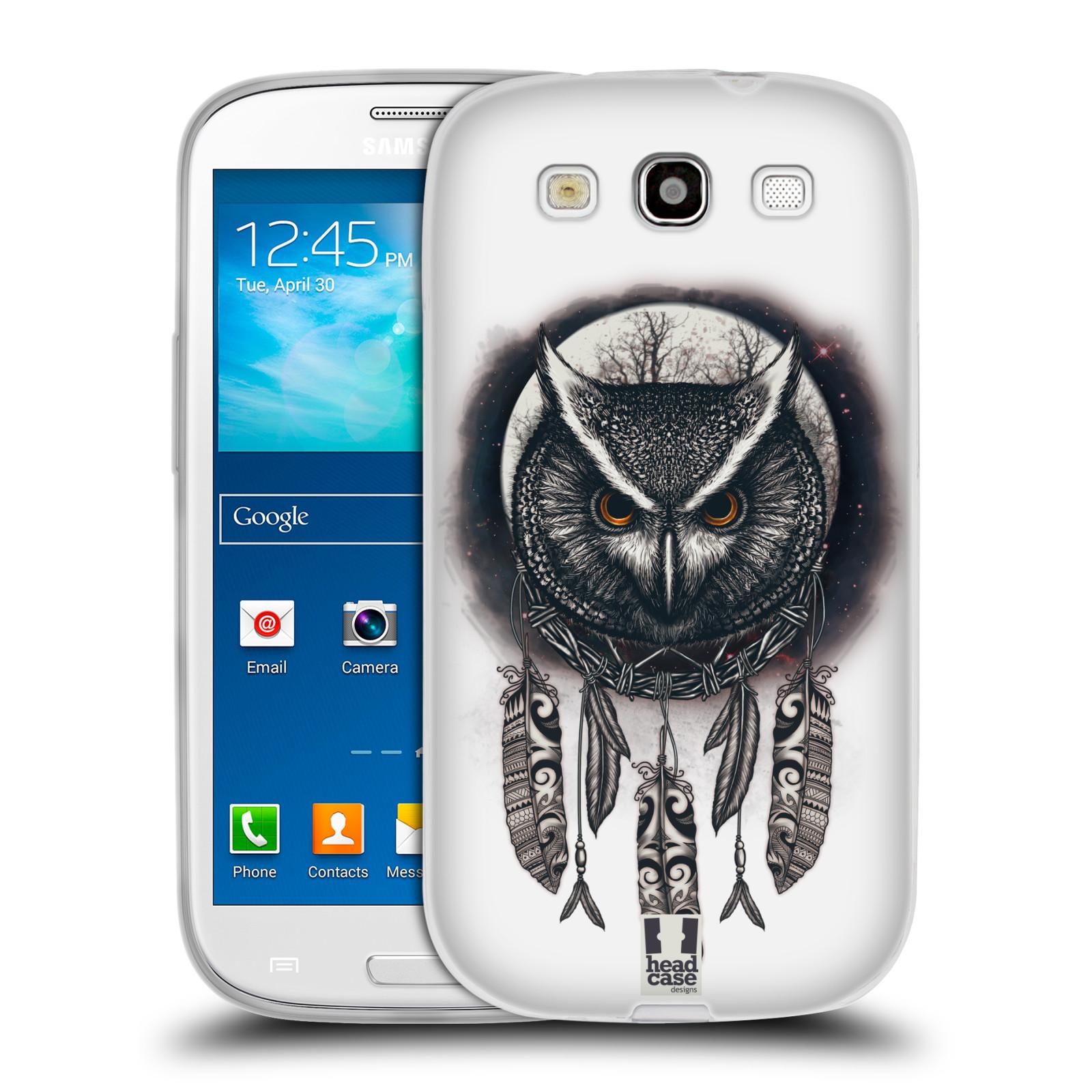 Silikonové pouzdro na mobil Samsung Galaxy S3 Neo - Head Case - Soví lapač