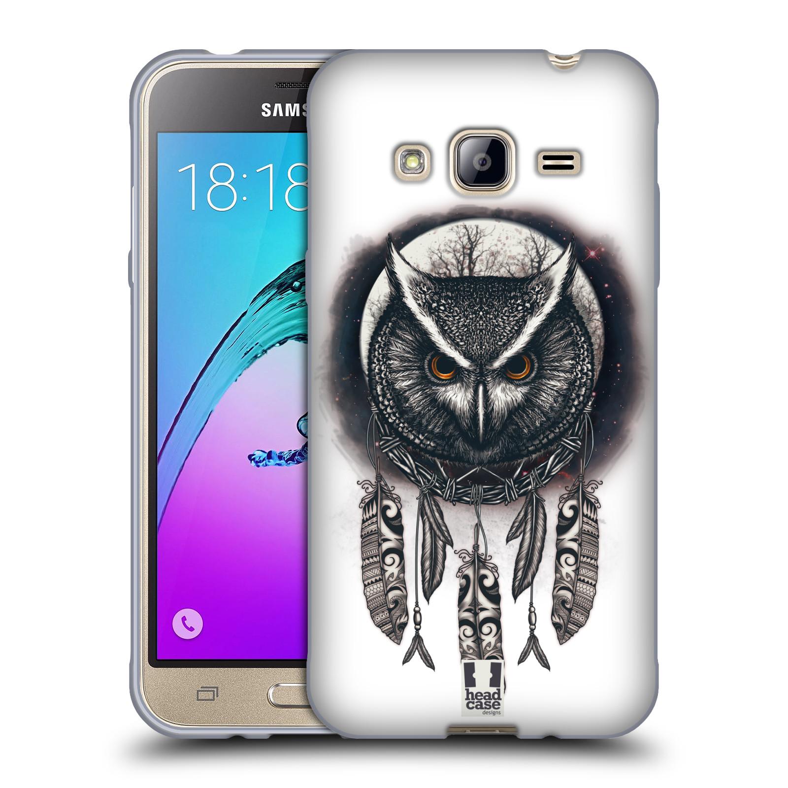 Silikonové pouzdro na mobil Samsung Galaxy J3 (2016) - Head Case - Soví lapač