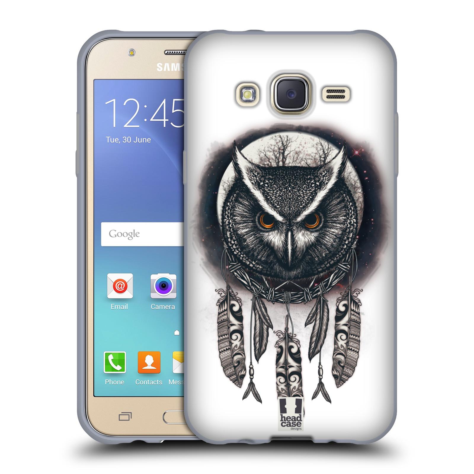 Silikonové pouzdro na mobil Samsung Galaxy J5 - Head Case - Soví lapač