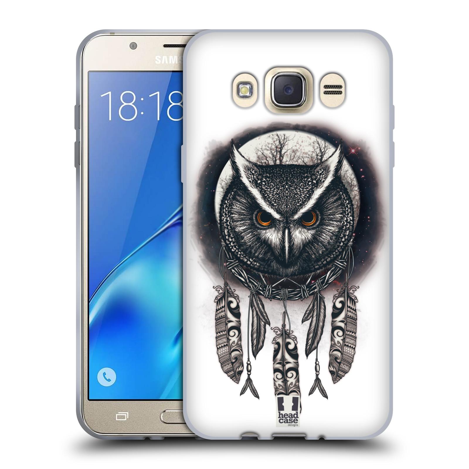 Silikonové pouzdro na mobil Samsung Galaxy J7 (2016) - Head Case - Soví lapač