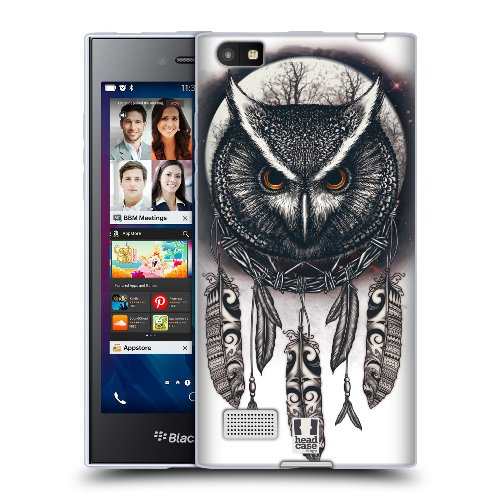 Silikonové pouzdro na mobil Blackberry Leap - Head Case - Soví lapač