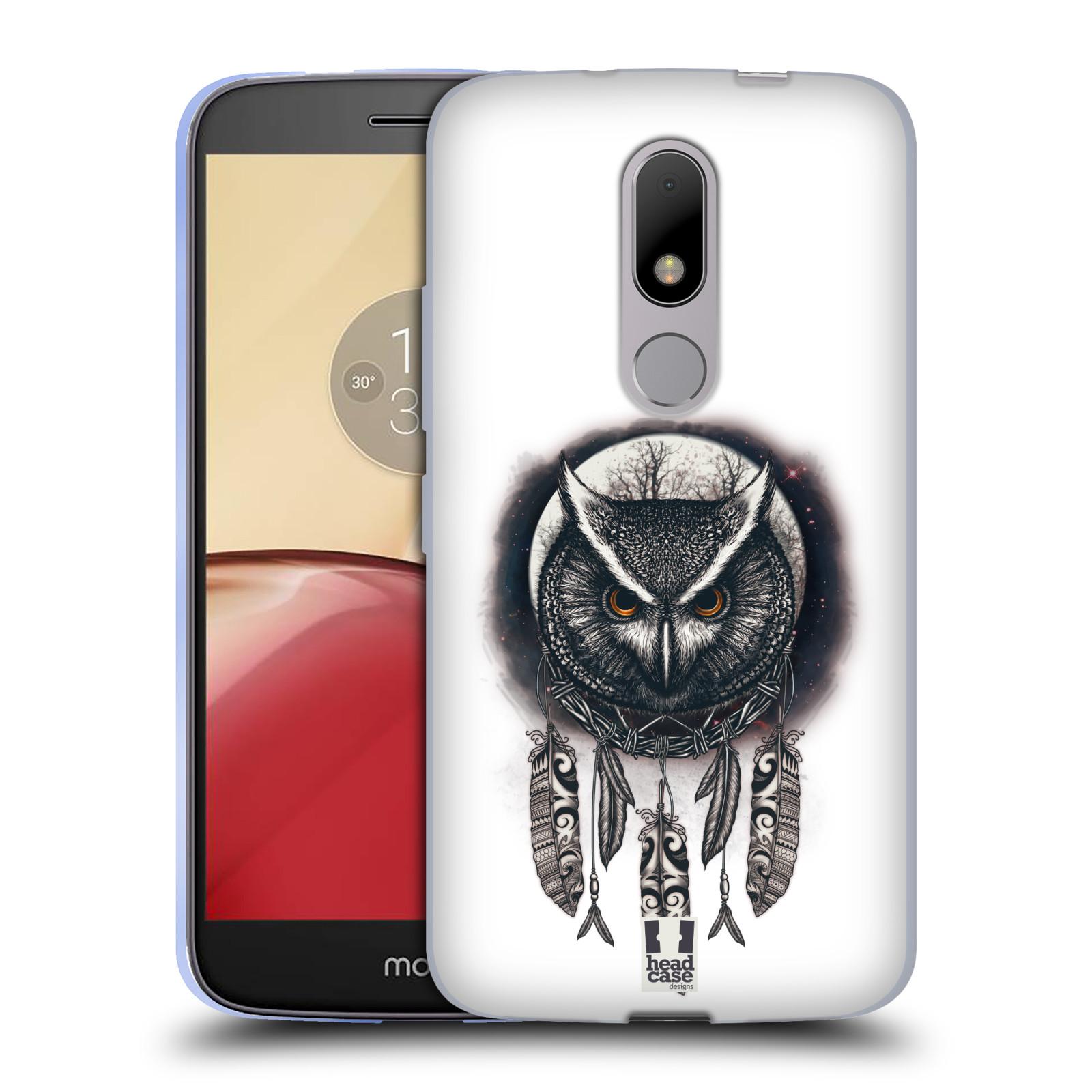 Silikonové pouzdro na mobil Lenovo Moto M - Head Case - Soví lapač