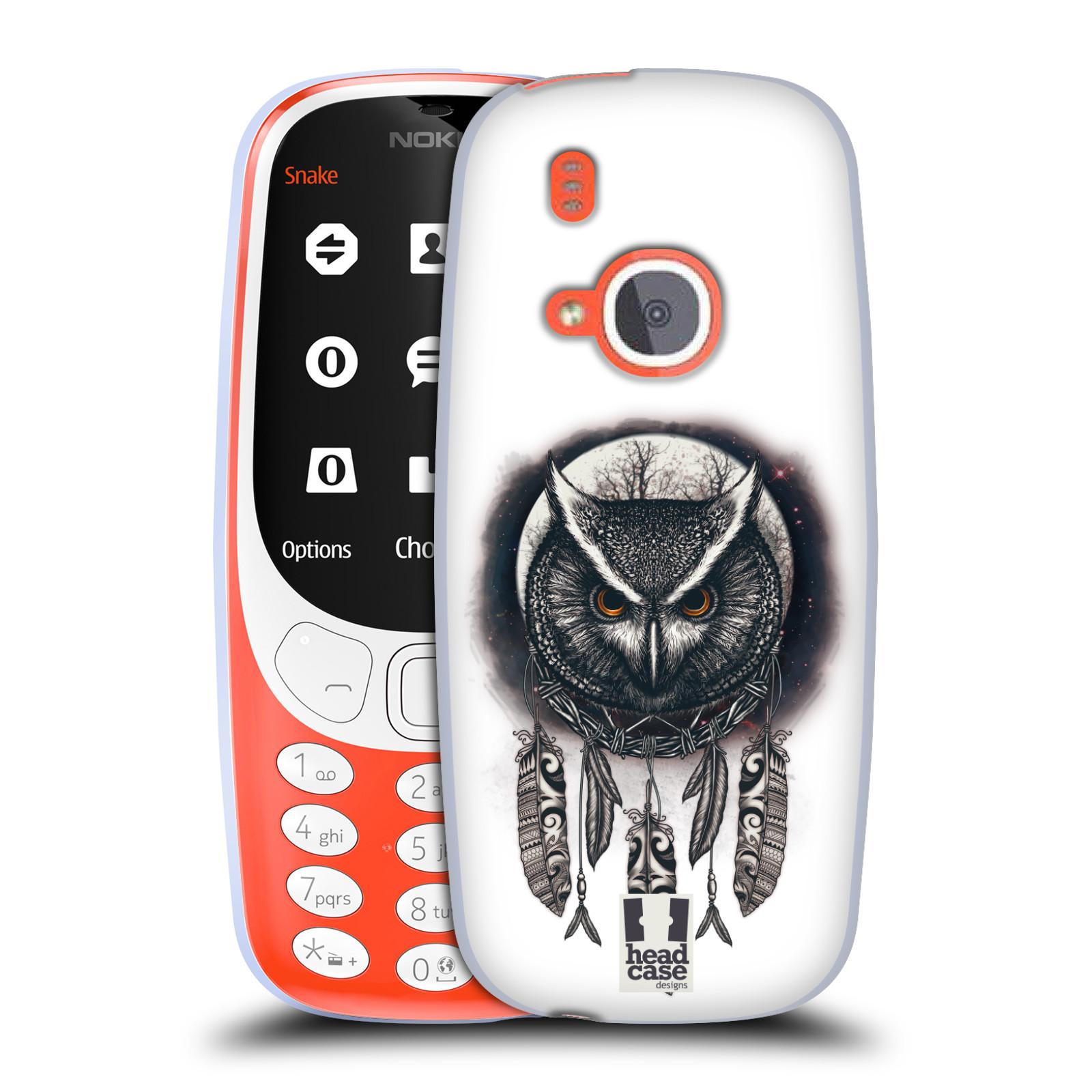 Silikonové pouzdro na mobil Nokia 3310 - Head Case - Soví lapač