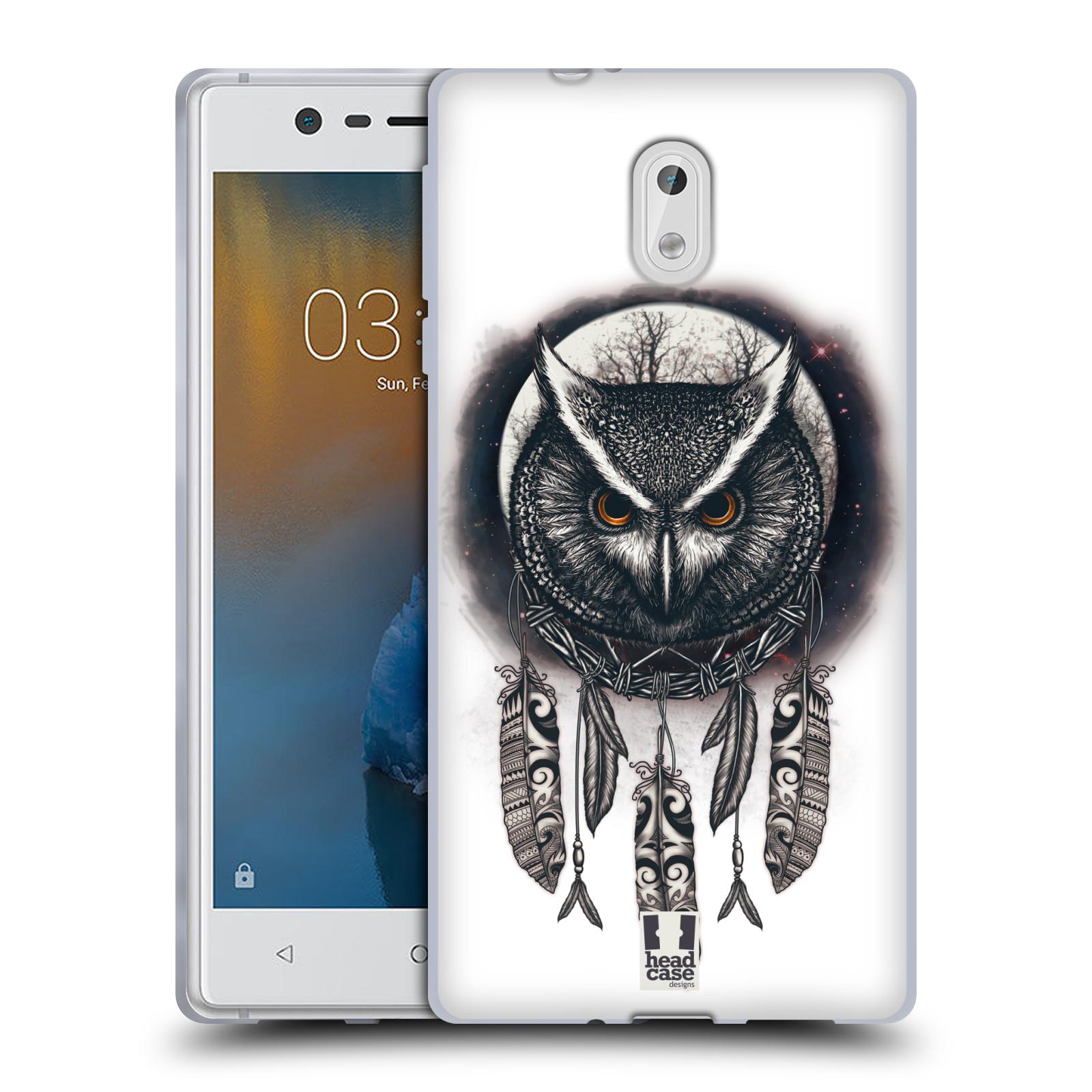Silikonové pouzdro na mobil Nokia 3 - Head Case - Soví lapač