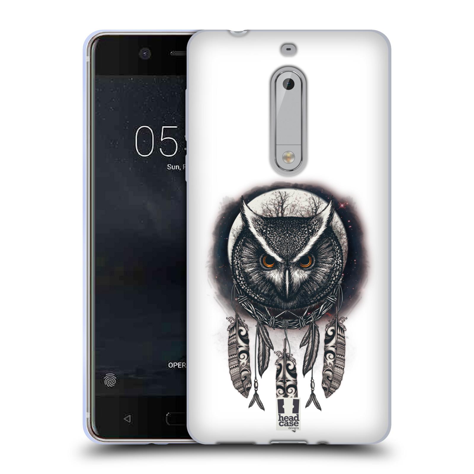 Silikonové pouzdro na mobil Nokia 5 - Head Case - Soví lapač