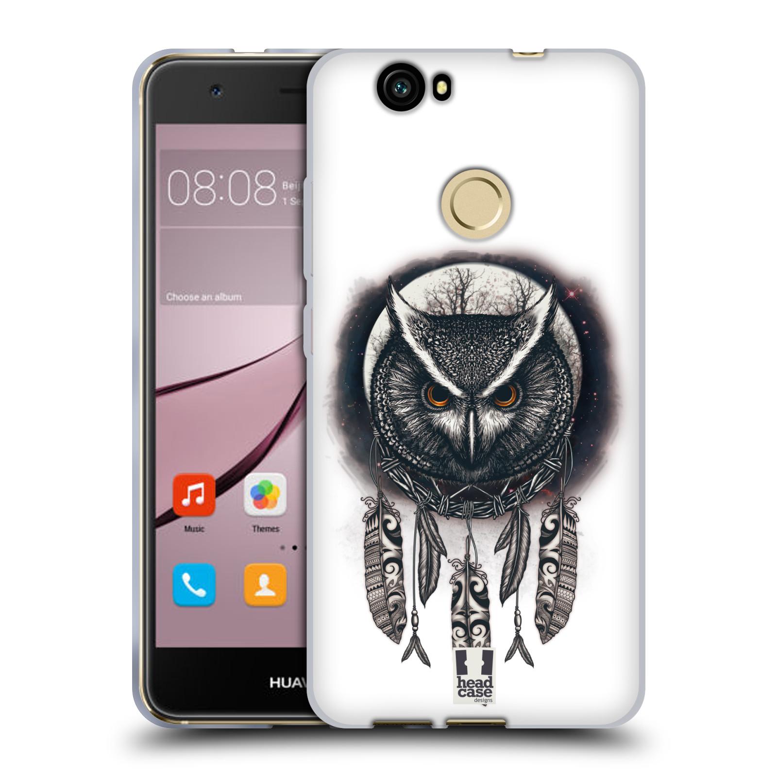 Silikonové pouzdro na mobil Huawei Nova - Head Case - Soví lapač