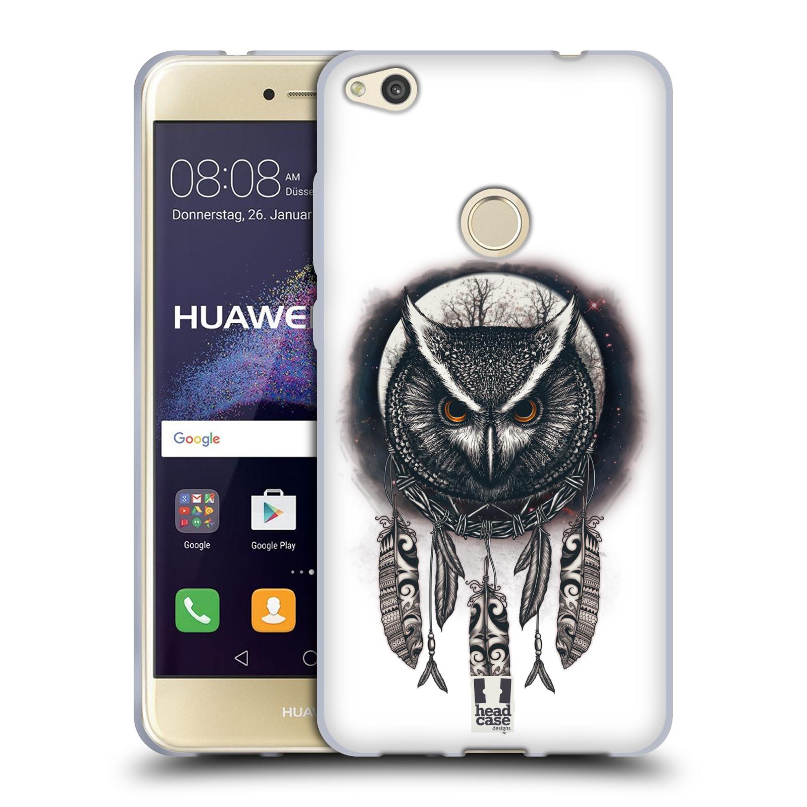 Silikonové pouzdro na mobil Honor 8 Lite - Head Case - Soví lapač empty 21331e0557c
