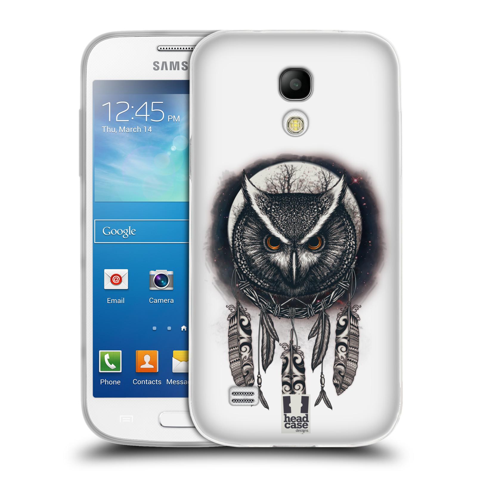 Silikonové pouzdro na mobil Samsung Galaxy S4 Mini - Head Case - Soví lapač