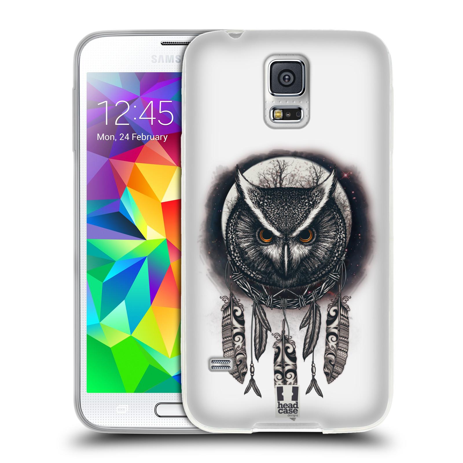 Silikonové pouzdro na mobil Samsung Galaxy S5 Neo - Head Case - Soví lapač
