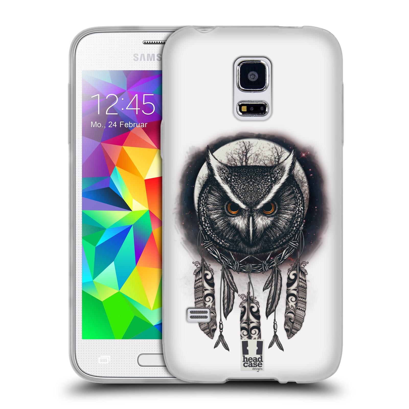Silikonové pouzdro na mobil Samsung Galaxy S5 Mini - Head Case - Soví lapač