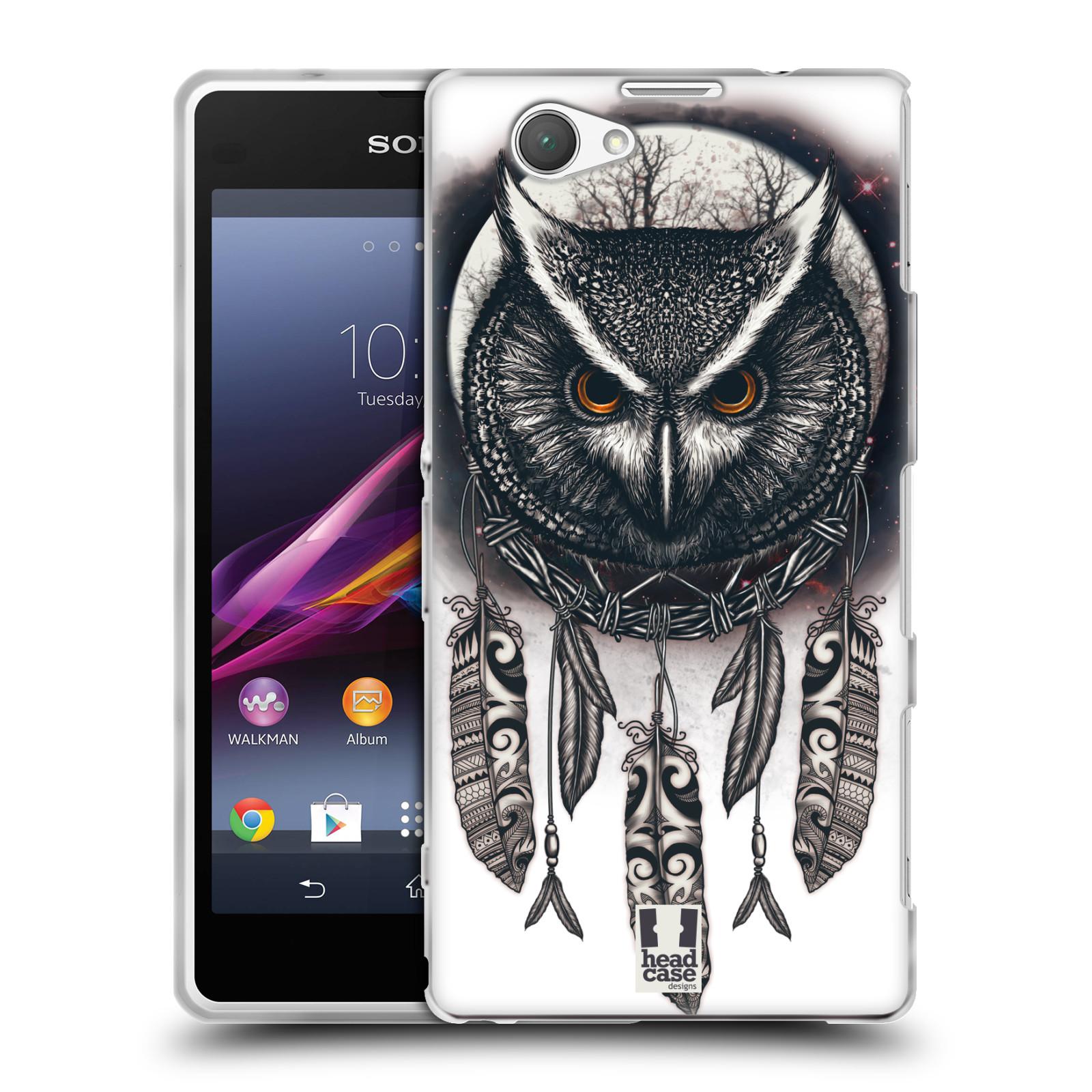 Silikonové pouzdro na mobil Sony Xperia Z1 Compact D5503 - Head Case - Soví lapač