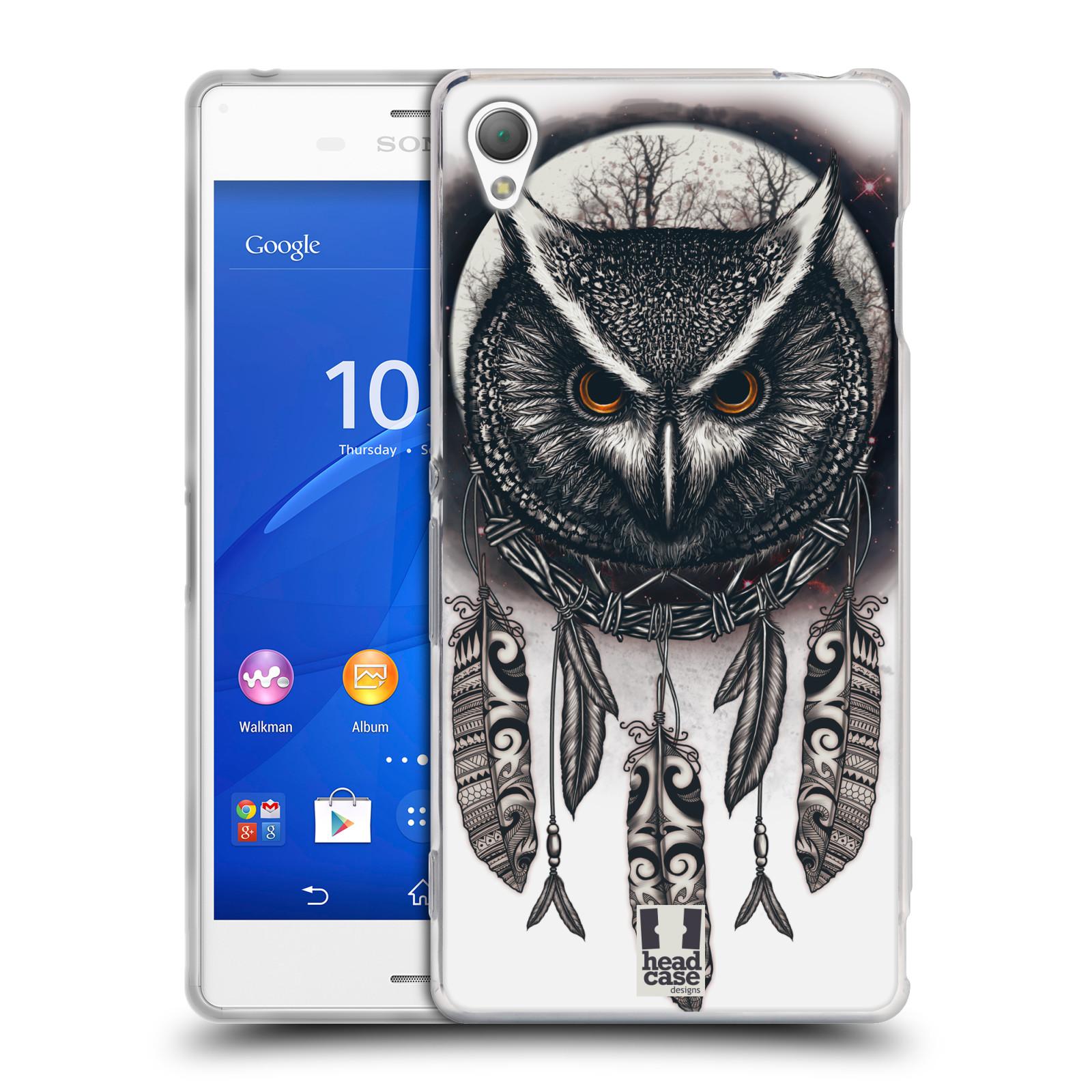 Silikonové pouzdro na mobil Sony Xperia Z3 D6603 - Head Case - Soví lapač