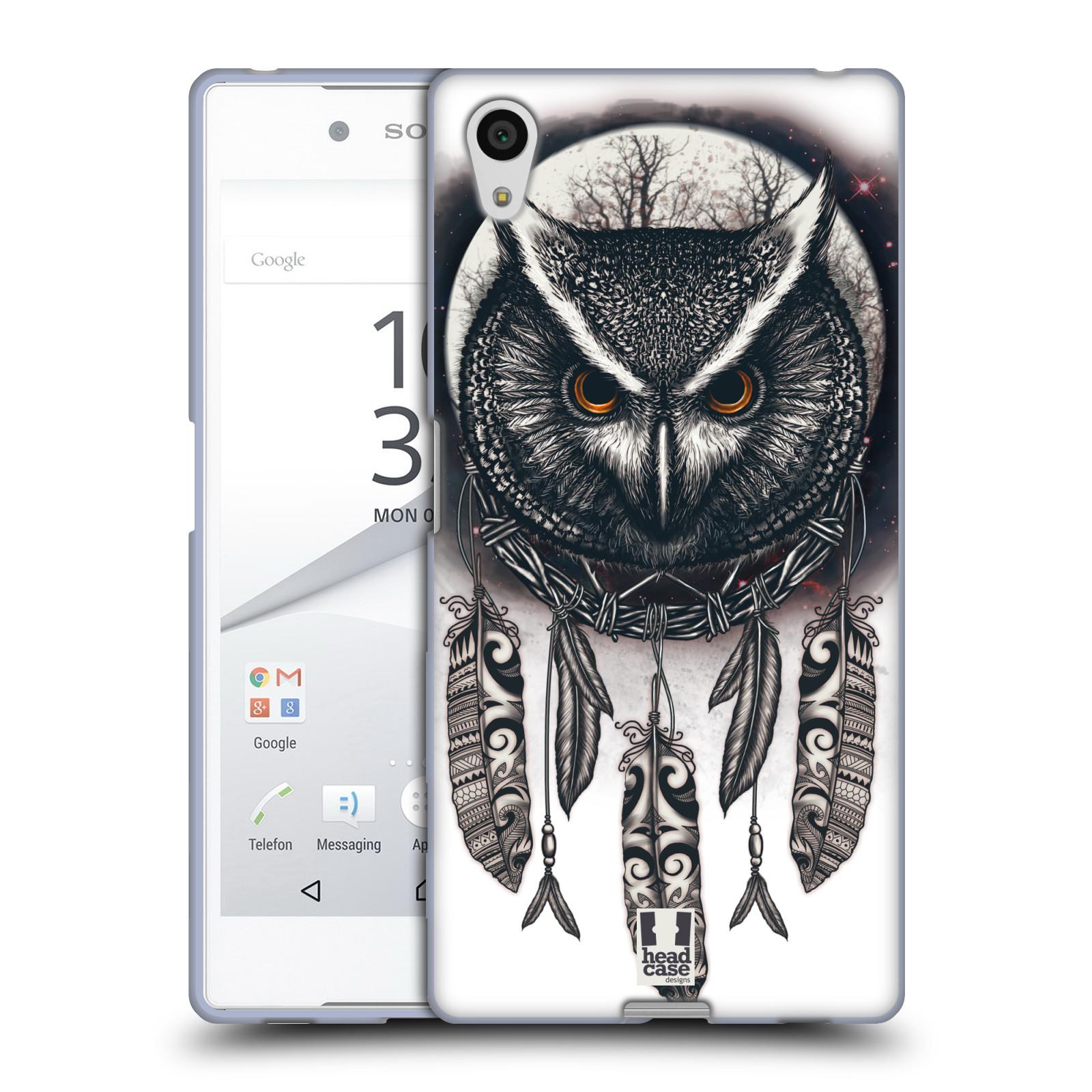 Silikonové pouzdro na mobil Sony Xperia Z5 - Head Case - Soví lapač