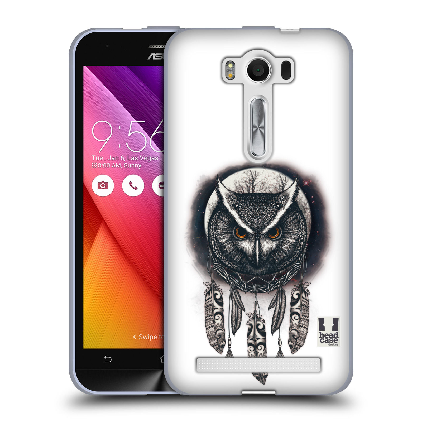 Silikonové pouzdro na mobil Asus ZenFone 2 Laser ZE500KL - Head Case - Soví lapač