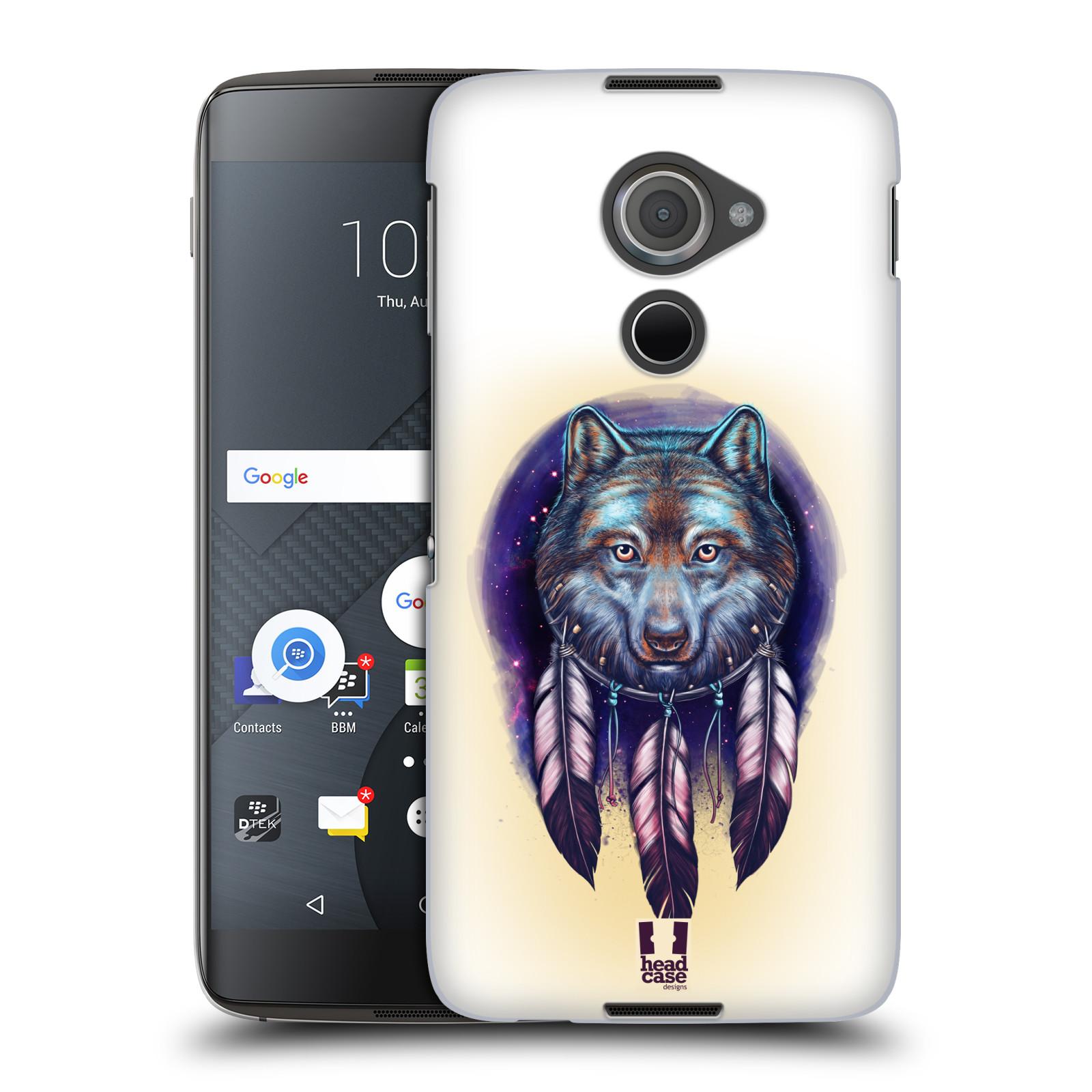 Plastové pouzdro na mobil Blackberry DTEK60 (Argon) - Head Case - Vlčí lapač (Plastový kryt či obal na mobilní telefon s motivem lapače snů pro Blackberry DTEK60 (Argon))