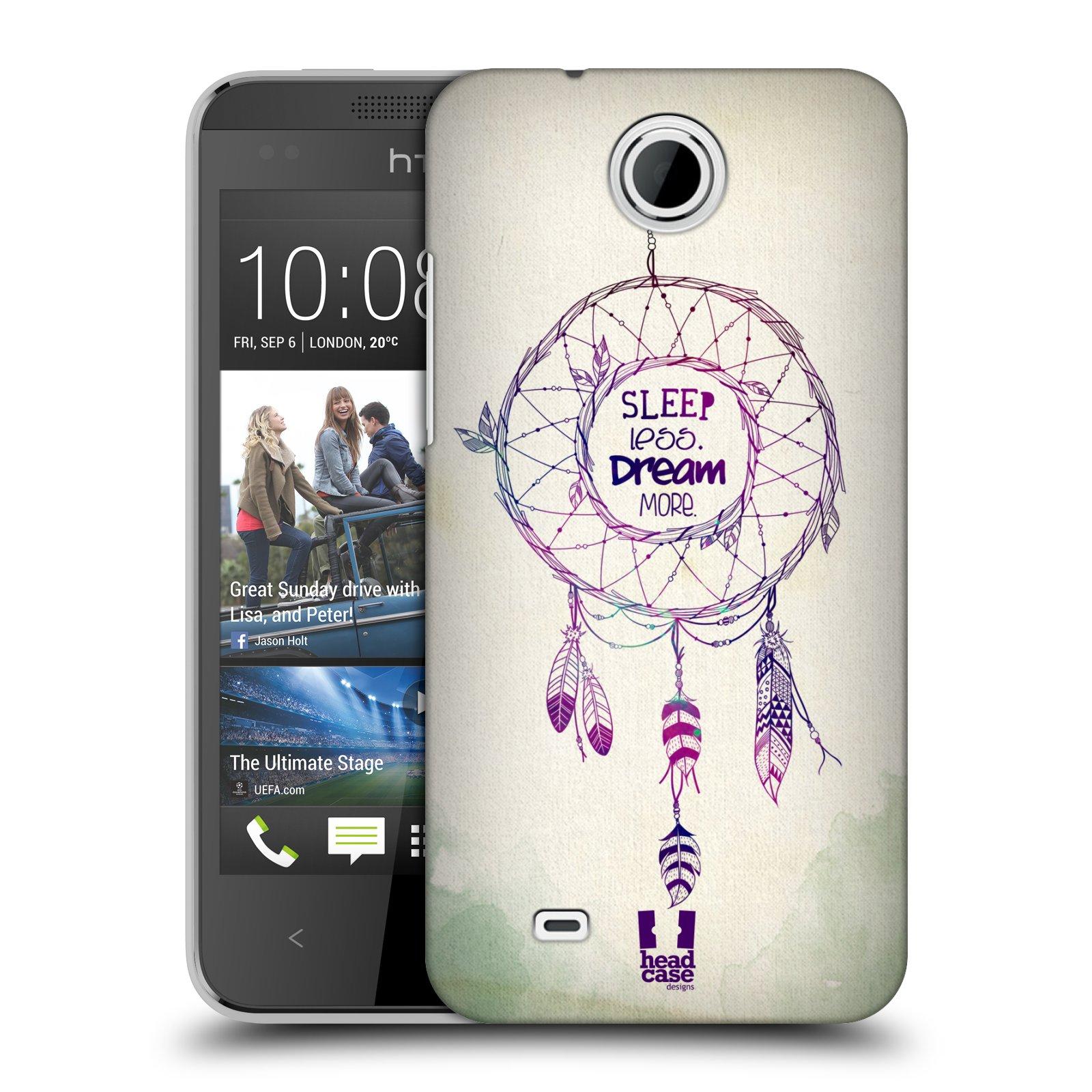 Plastové pouzdro na mobil HTC Desire 300 HEAD CASE LAPAČ MORE