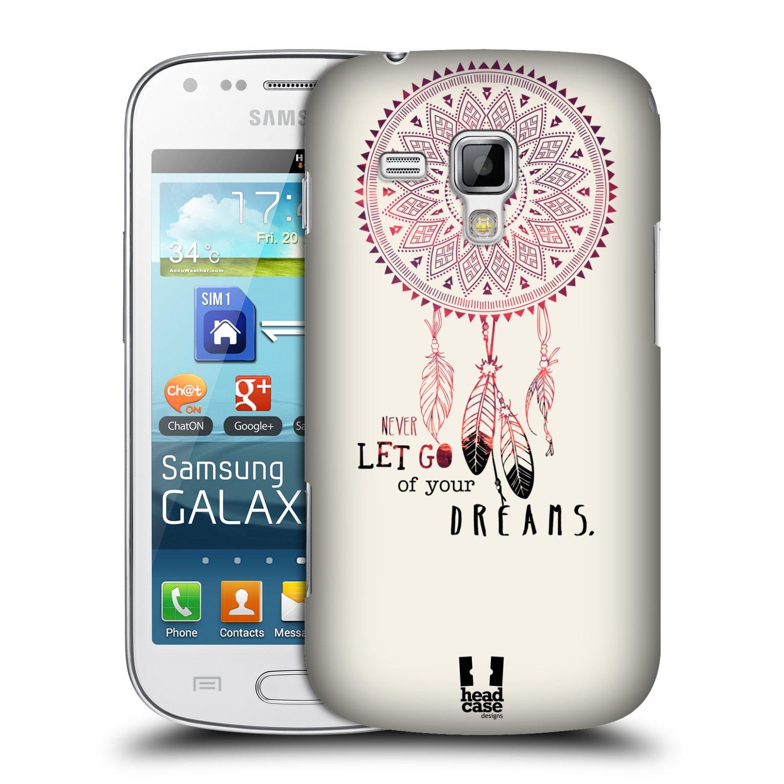 Plastové pouzdro na mobil Samsung Galaxy Trend Plus HEAD CASE LAPAČ NEVER DREAMS