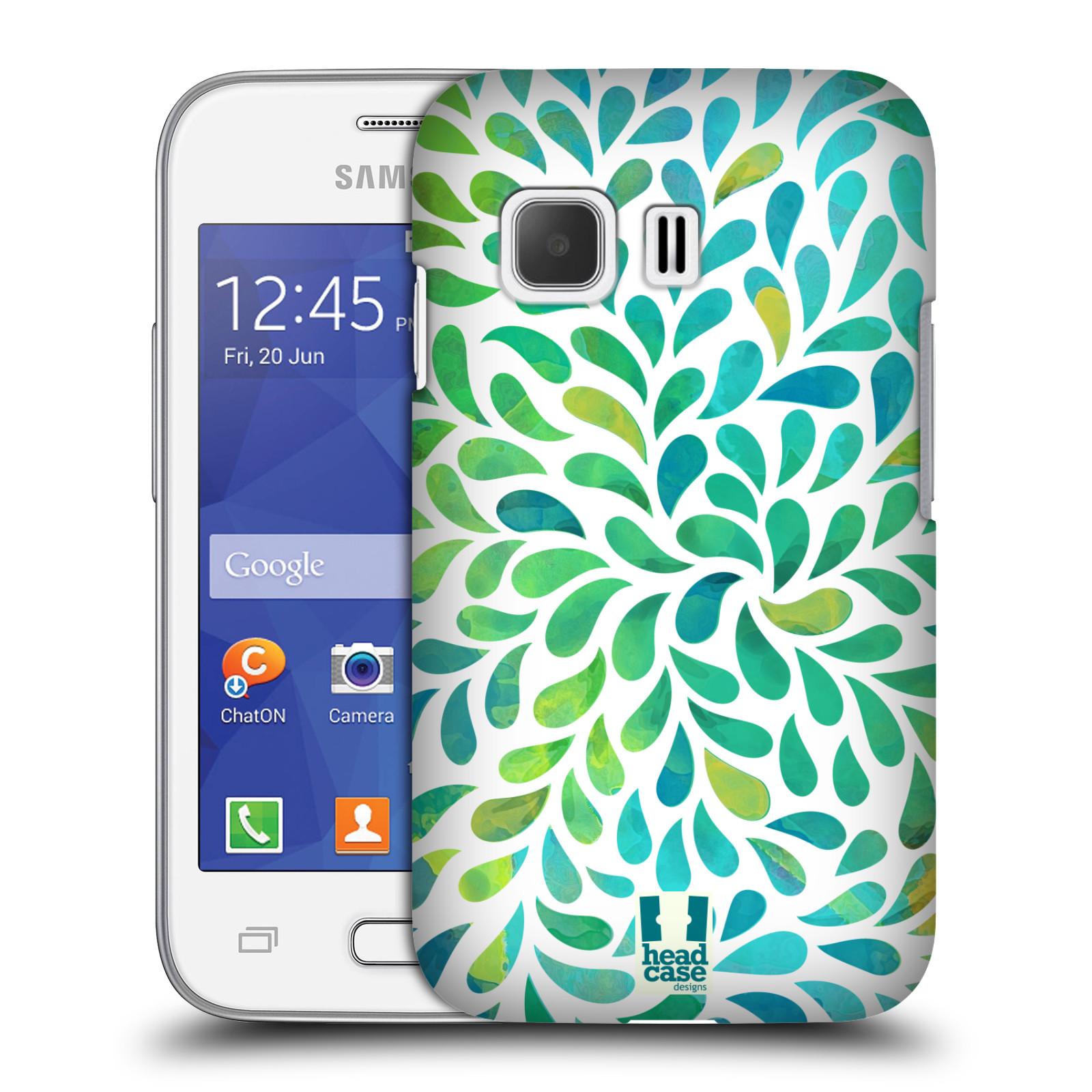 Plastové pouzdro na mobil Samsung Galaxy Young 2 HEAD CASE Droplet Wave Kapičky (Kryt či obal na mobilní telefon Samsung Galaxy Young 2 SM-G130)