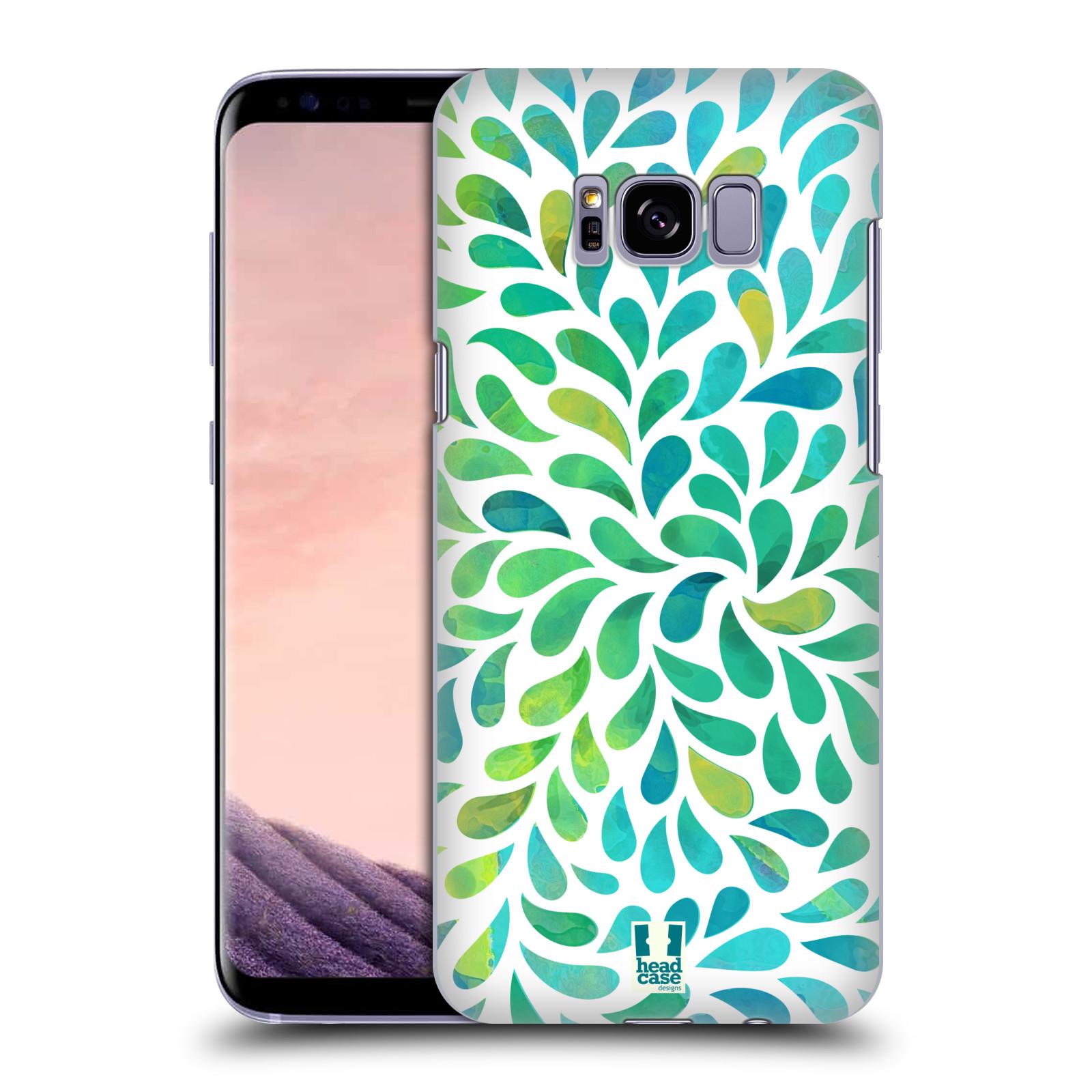 Plastové pouzdro na mobil Samsung Galaxy S8+ (Plus) Head Case Droplet Wave Kapičky (Plastový kryt či obal na mobilní telefon Samsung Galaxy S8+ (Plus) SM-G9550)