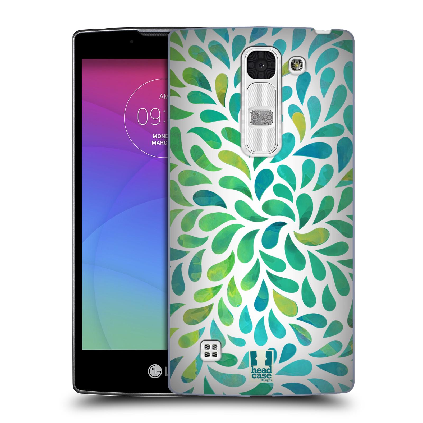Plastové pouzdro na mobil LG Spirit LTE HEAD CASE Droplet Wave Kapičky (Kryt či obal na mobilní telefon LG Spirit H420 a LG Spirit LTE H440N)