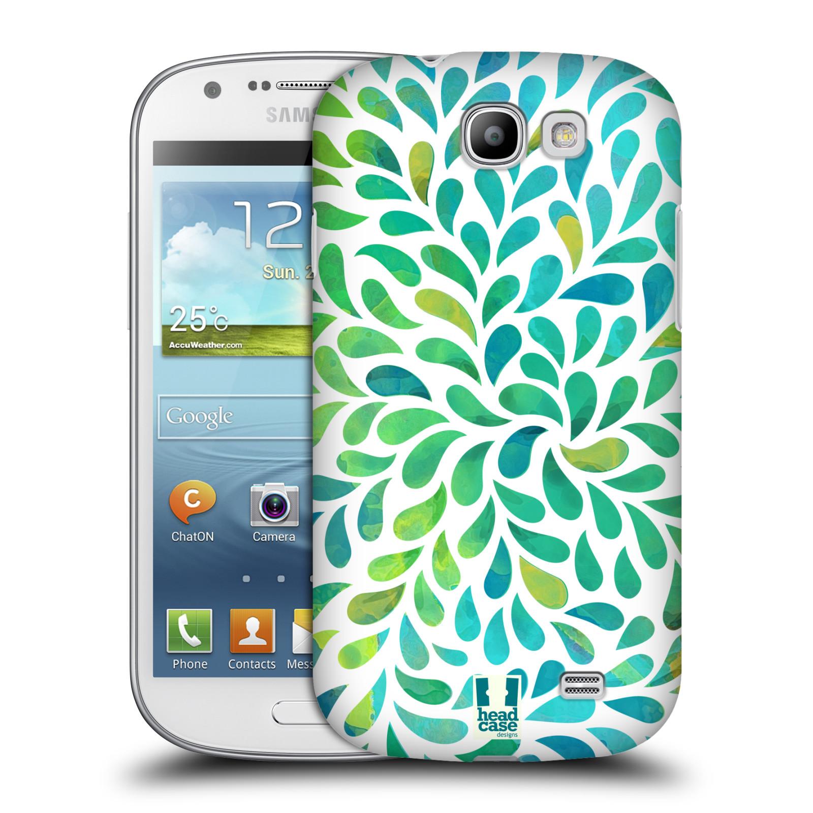 Plastové pouzdro na mobil Samsung Galaxy Express HEAD CASE Droplet Wave Kapičky (Kryt či obal na mobilní telefon Samsung Galaxy Express GT-i8730)