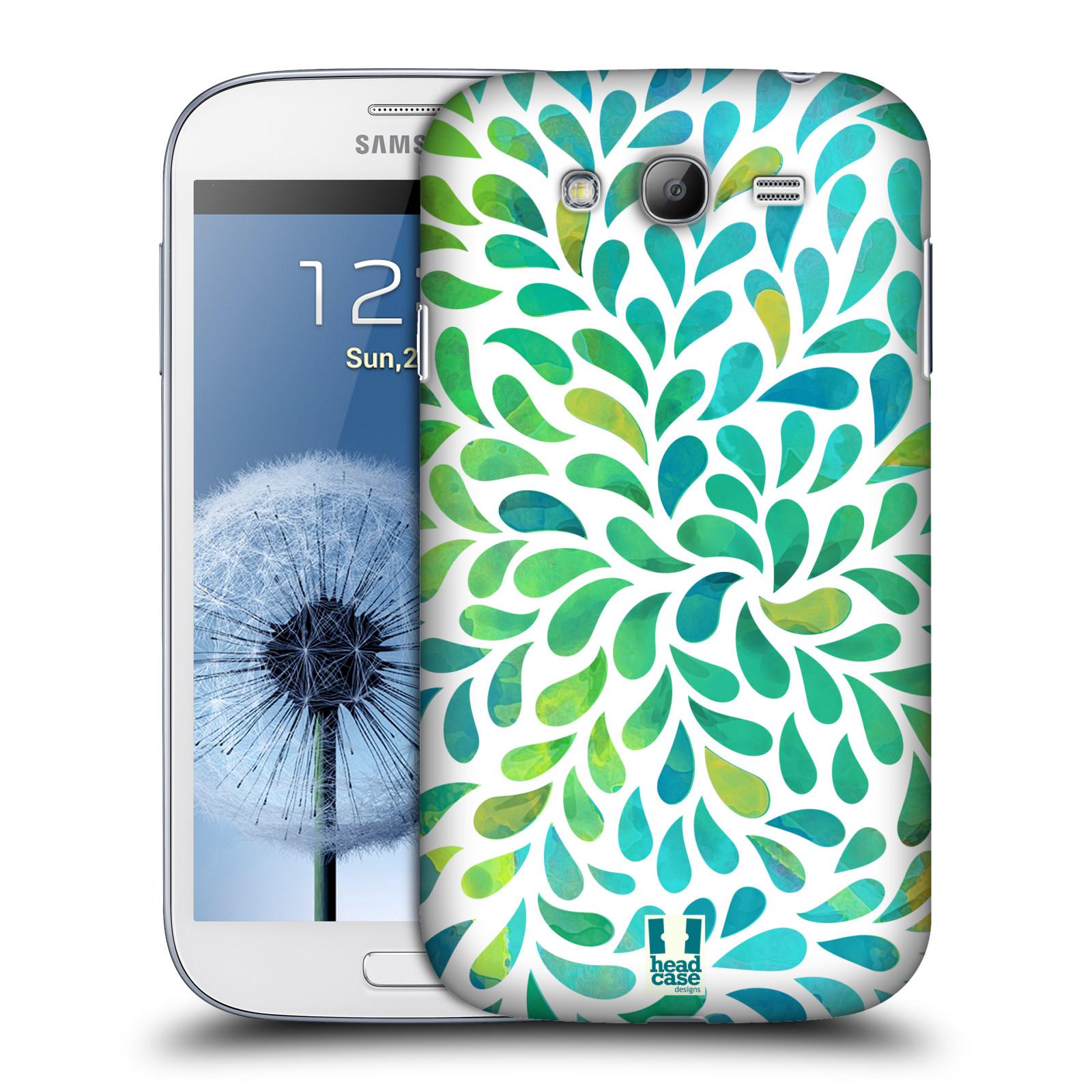 Plastové pouzdro na mobil Samsung Galaxy Grand Neo Plus HEAD CASE Droplet Wave Kapičky (Kryt či obal na mobilní telefon Samsung Galaxy Grand Neo Plus GT-i9060i)