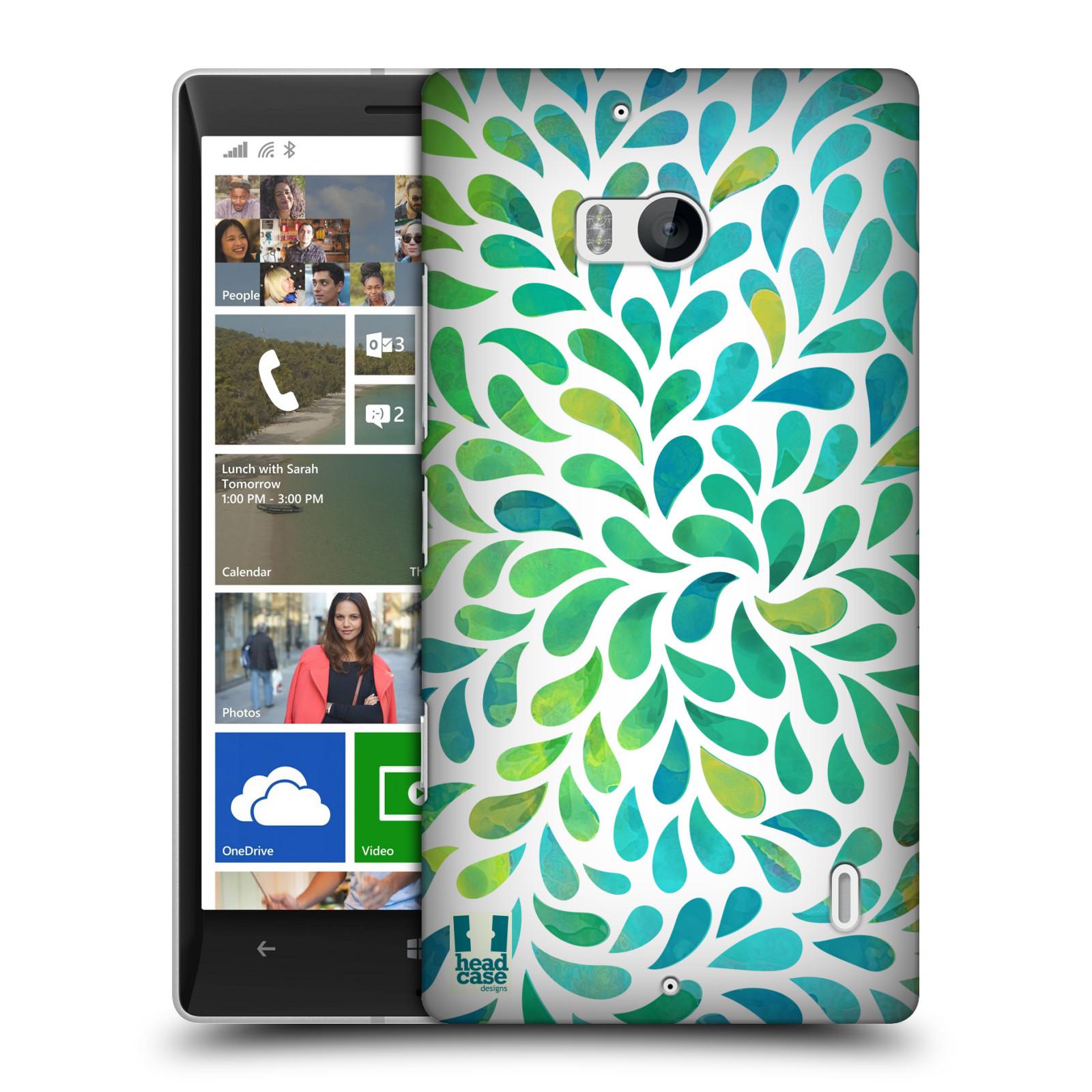 Plastové pouzdro na mobil Nokia Lumia 930 HEAD CASE Droplet Wave Kapičky