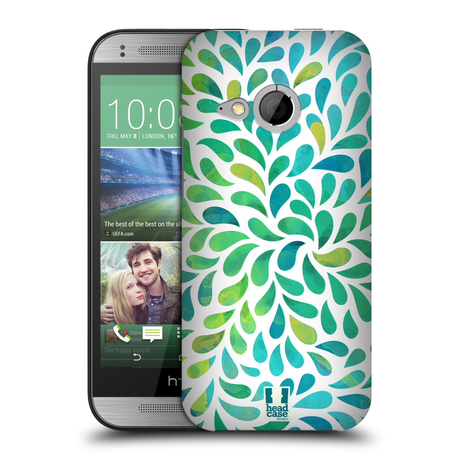 Plastové pouzdro na mobil HTC ONE Mini 2 HEAD CASE Droplet Wave Kapičky (Kryt či obal na mobilní telefon HTC ONE Mini 2)