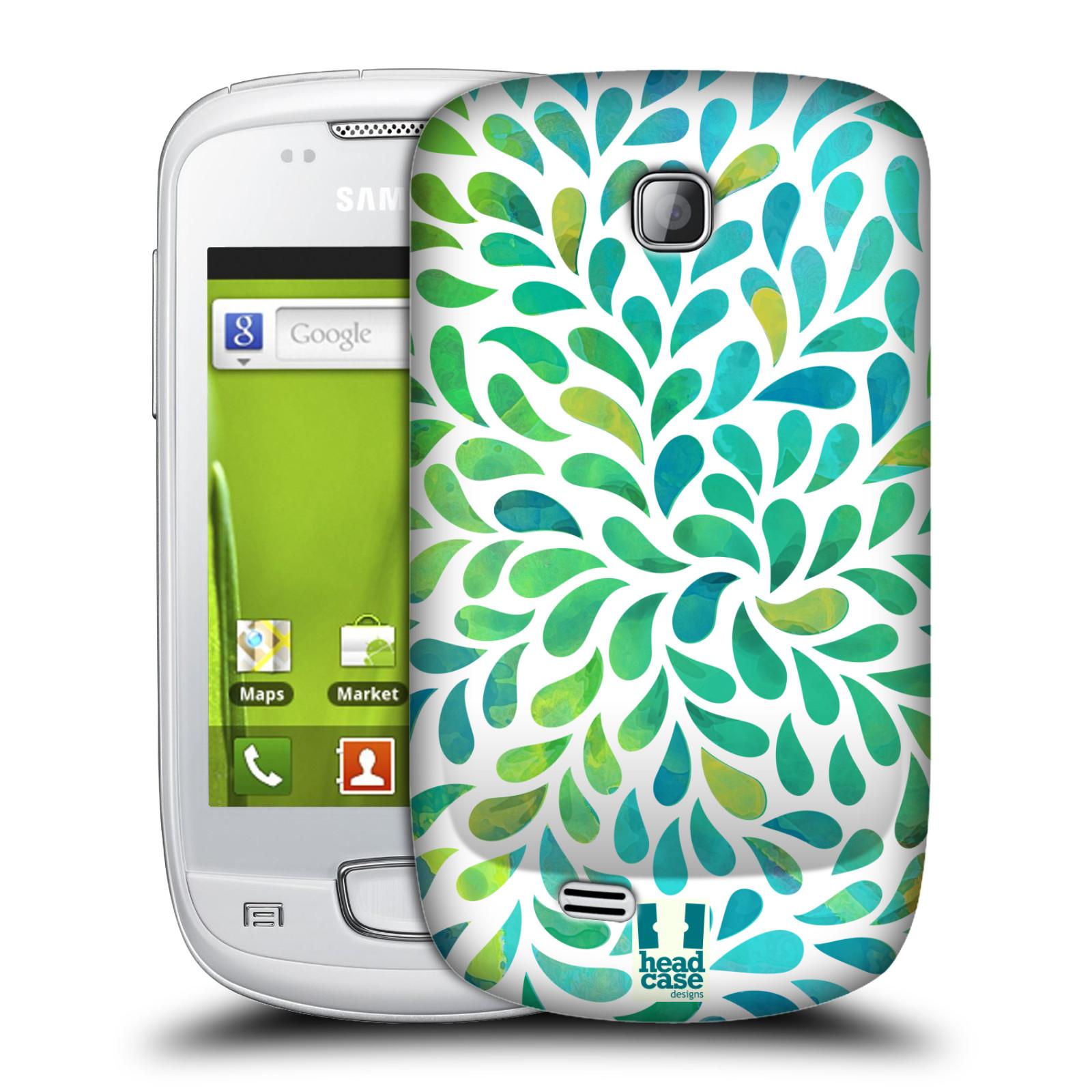Plastové pouzdro na mobil Samsung Galaxy Mini HEAD CASE Droplet Wave Kapičky (Kryt či obal na mobilní telefon Samsung Galaxy Mini GT-S5570 / GT-S5570i)