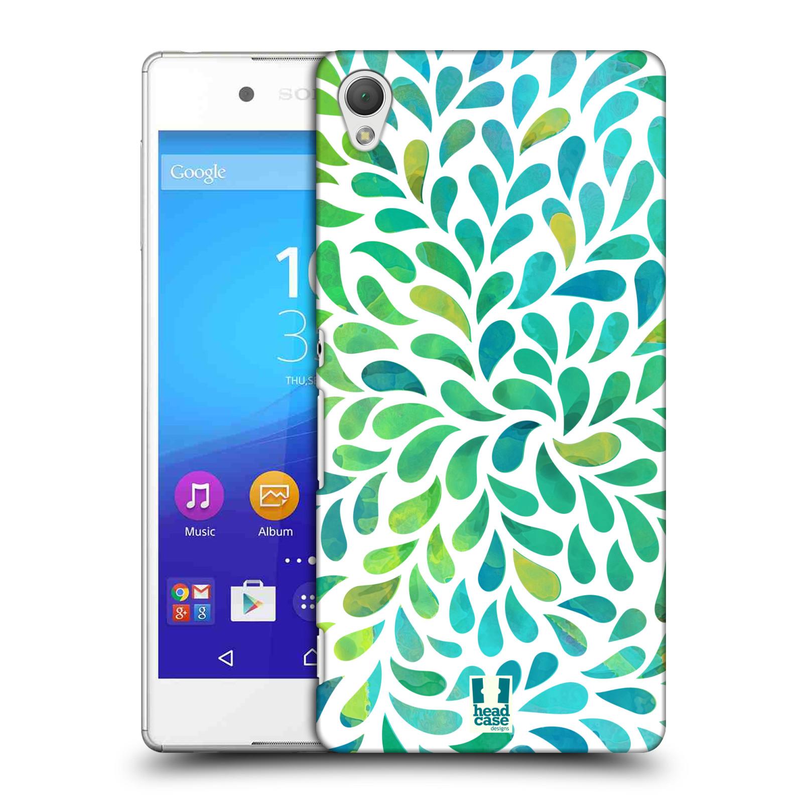 Plastové pouzdro na mobil Sony Xperia Z3+ (Plus) HEAD CASE Droplet Wave Kapičky (Kryt či obal na mobilní telefon Sony Xperia Z3+ a Sony Xperia Z4 )