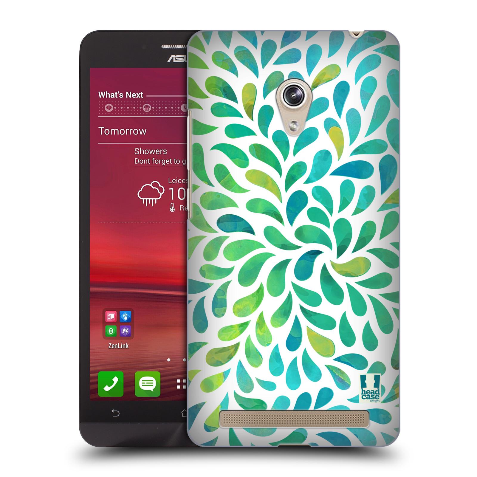 Plastové pouzdro na mobil Asus Zenfone 6 HEAD CASE Droplet Wave Kapičky (Kryt či obal na mobilní telefon Asus Zenfone 6 A600CG / A601CG)