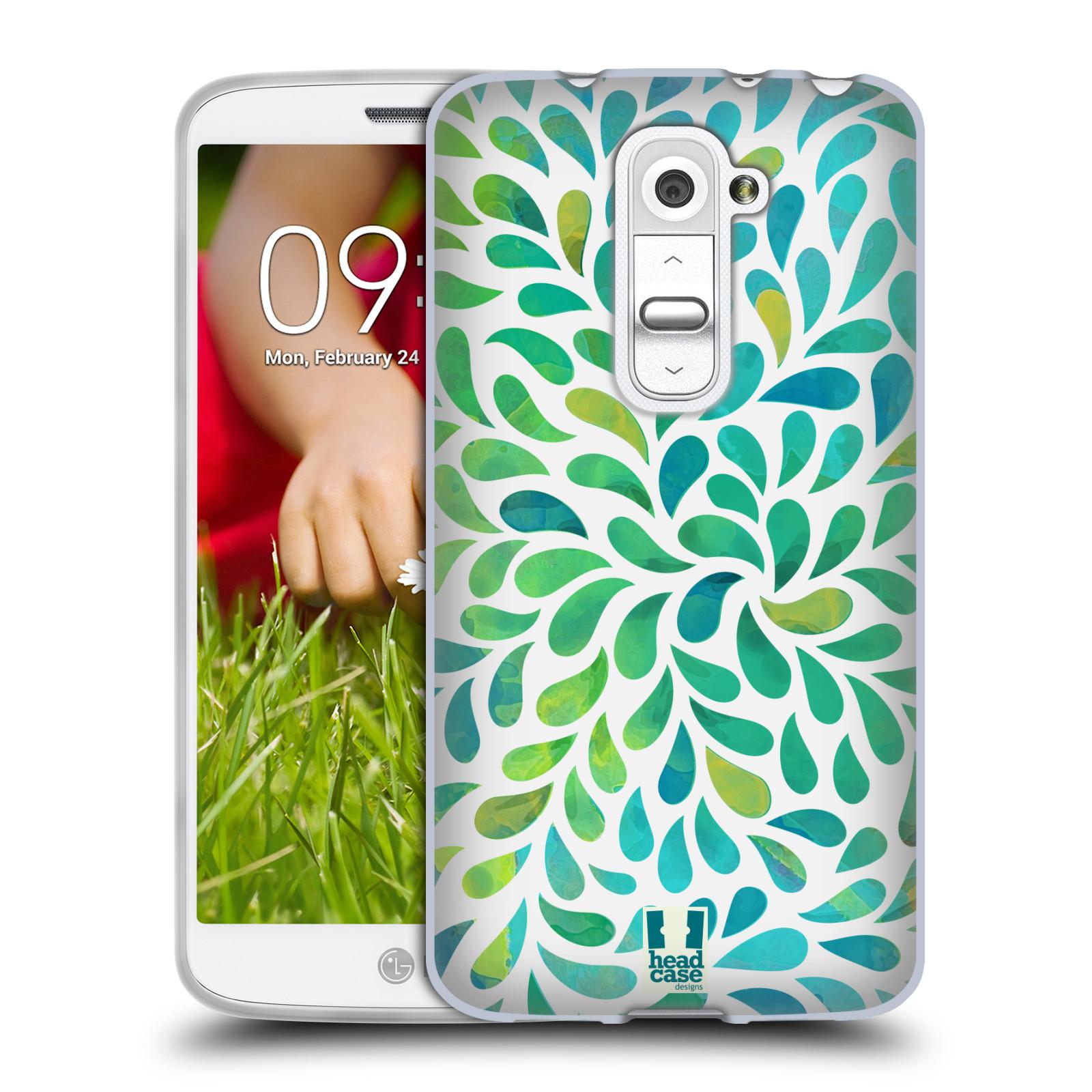 Silikonové pouzdro na mobil LG G2 Mini HEAD CASE Droplet Wave Kapičky (Silikonový kryt či obal na mobilní telefon LG G2 Mini D620)