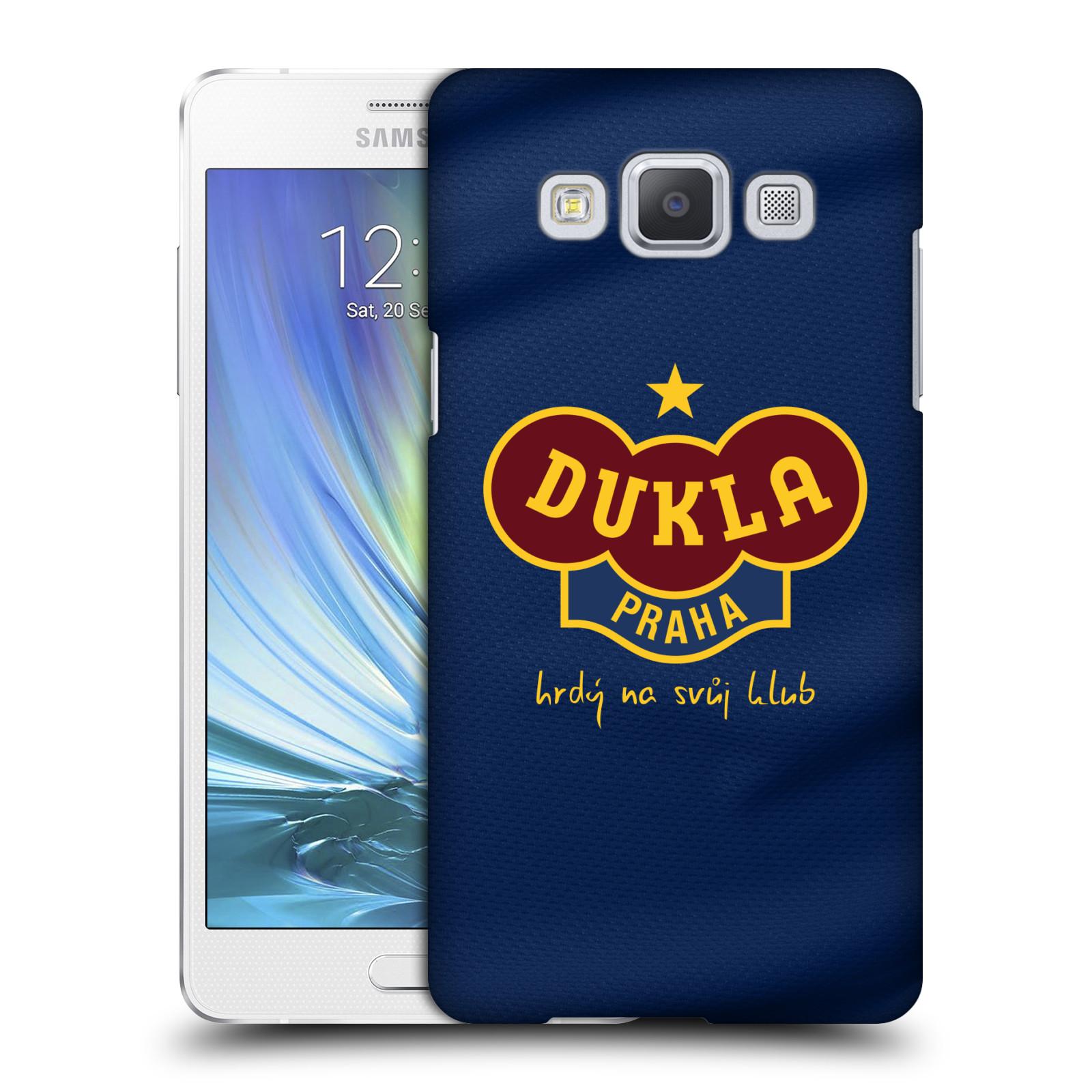 Plastové pouzdro na mobil Samsung Galaxy A5 - FK Dukla Praha - Modrý dres