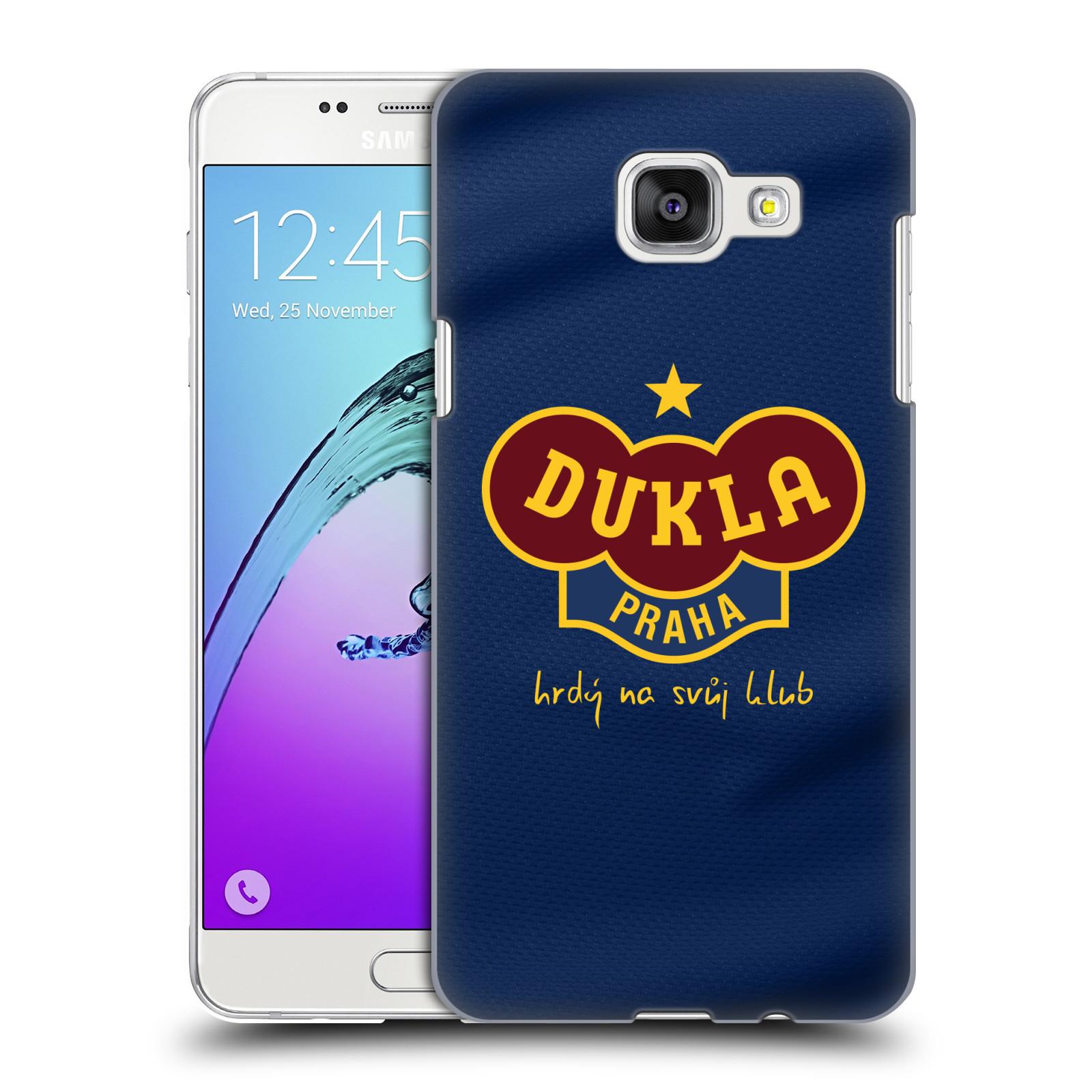 Plastové pouzdro na mobil Samsung Galaxy A5 (2016) - FK Dukla Praha - Modrý dres