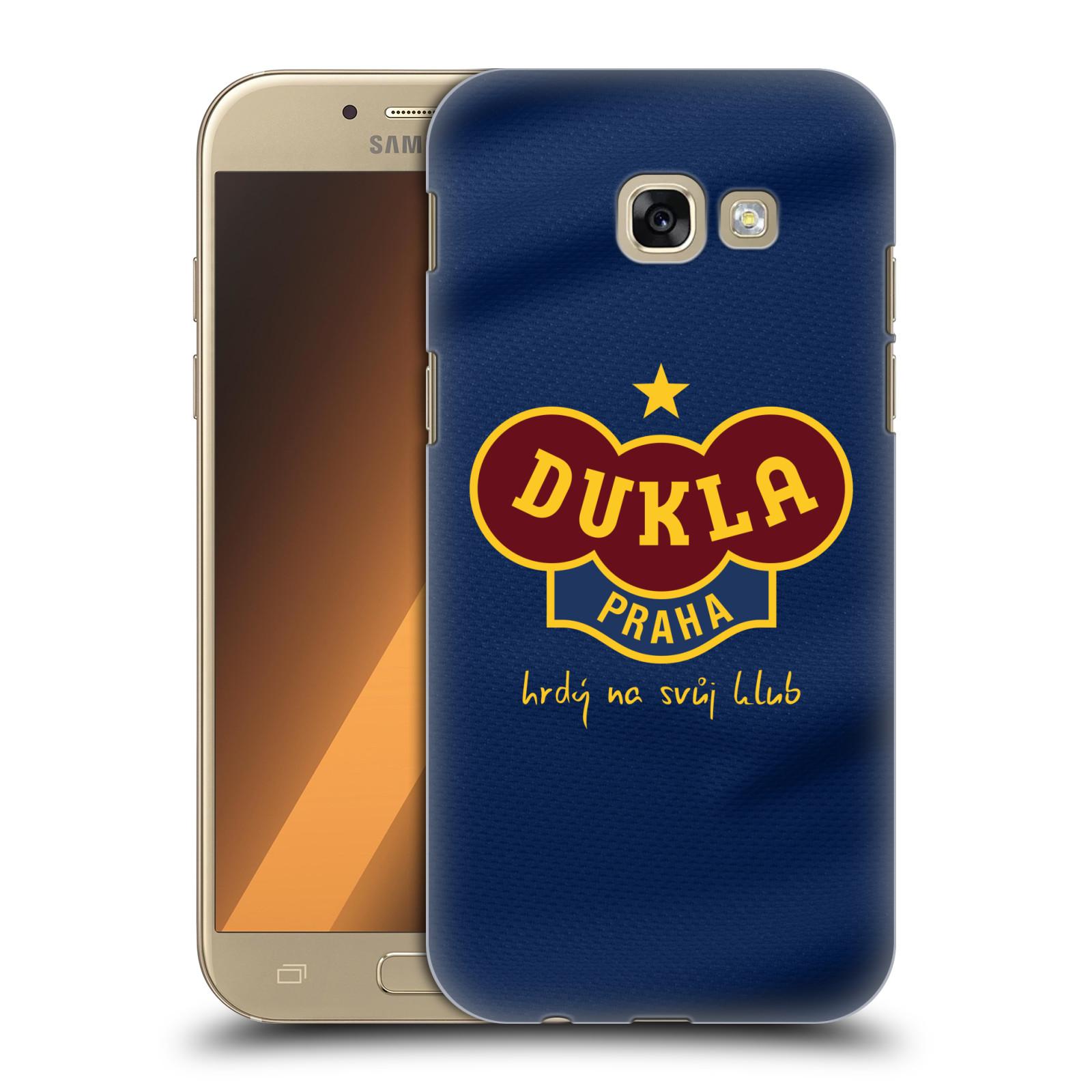 Plastové pouzdro na mobil Samsung Galaxy A5 (2017) - FK Dukla Praha - Modrý dres
