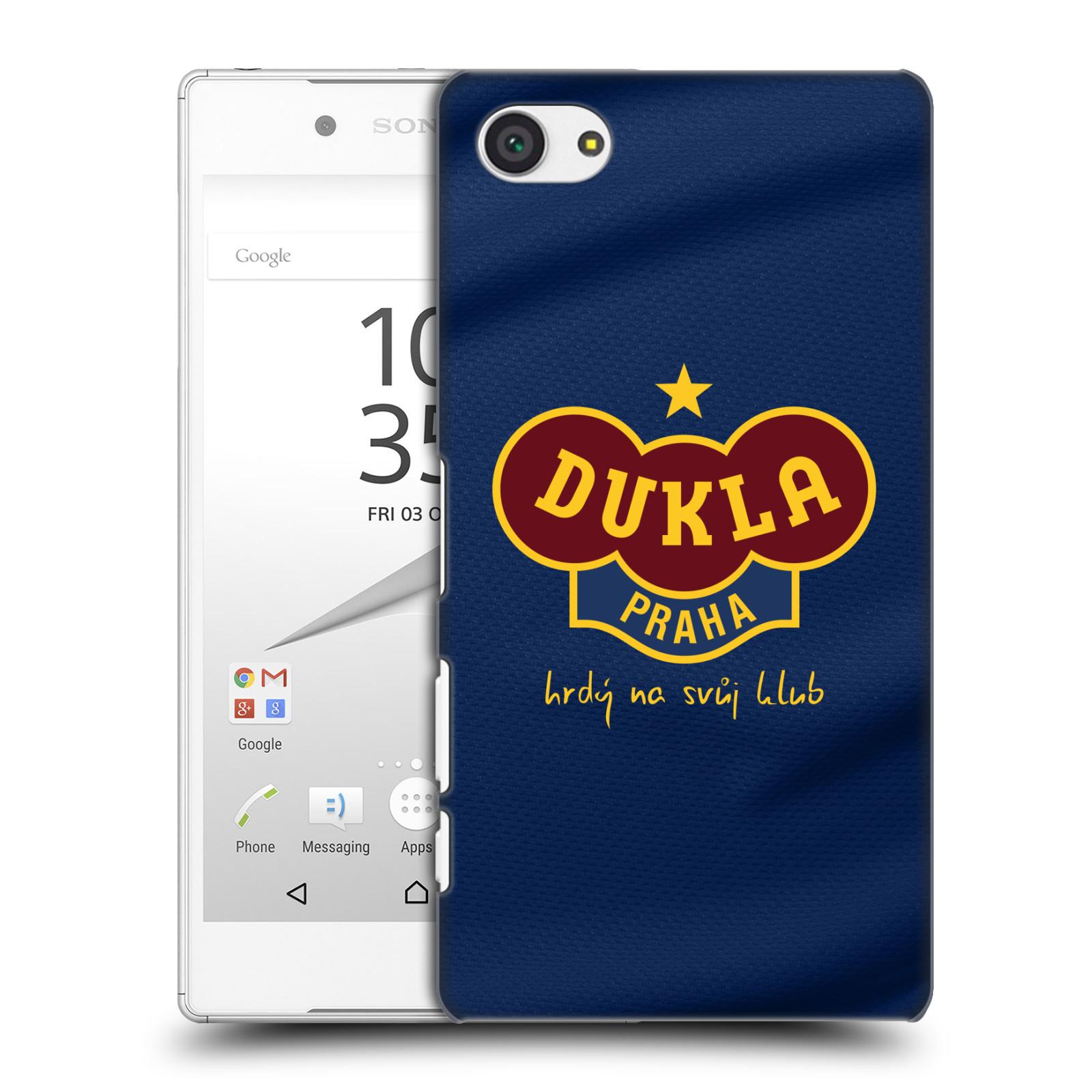 Plastové pouzdro na mobil Sony Xperia Z5 Compact - FK Dukla Praha - Modrý dres