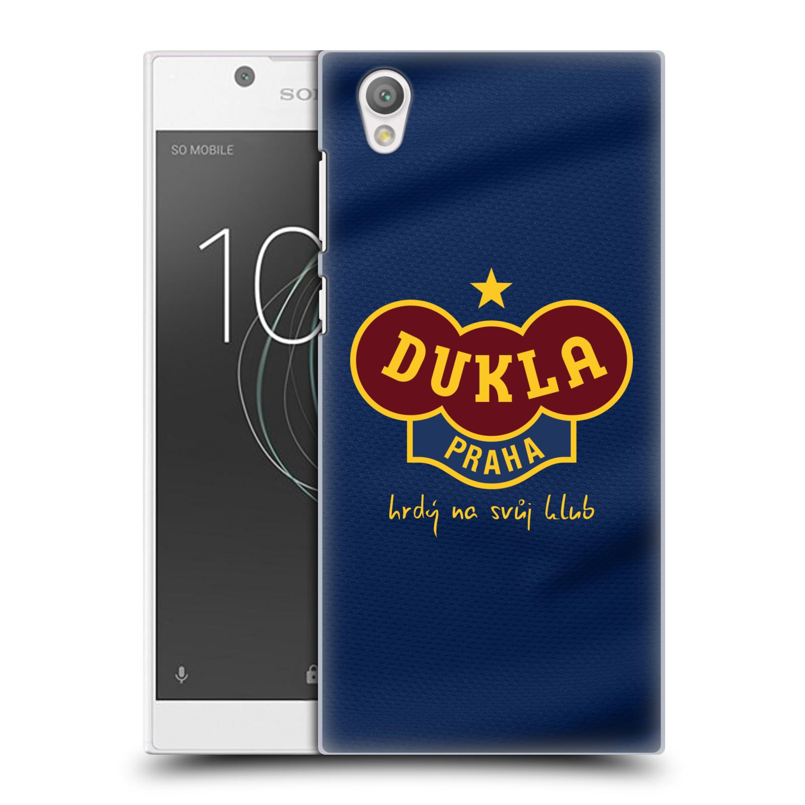 Plastové pouzdro na mobil Sony Xperia L1 - FK Dukla Praha - Modrý dres