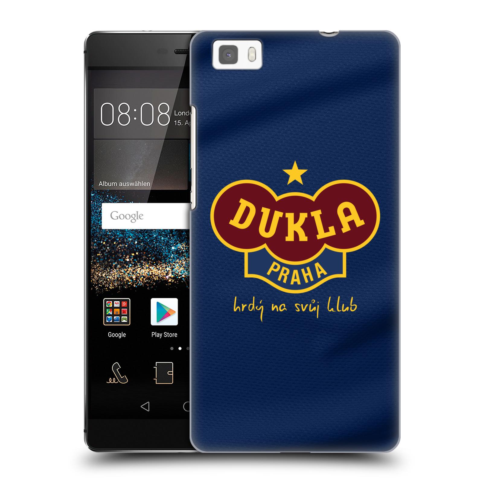 Plastové pouzdro na mobil Huawei P8 Lite - FK Dukla Praha - Modrý dres