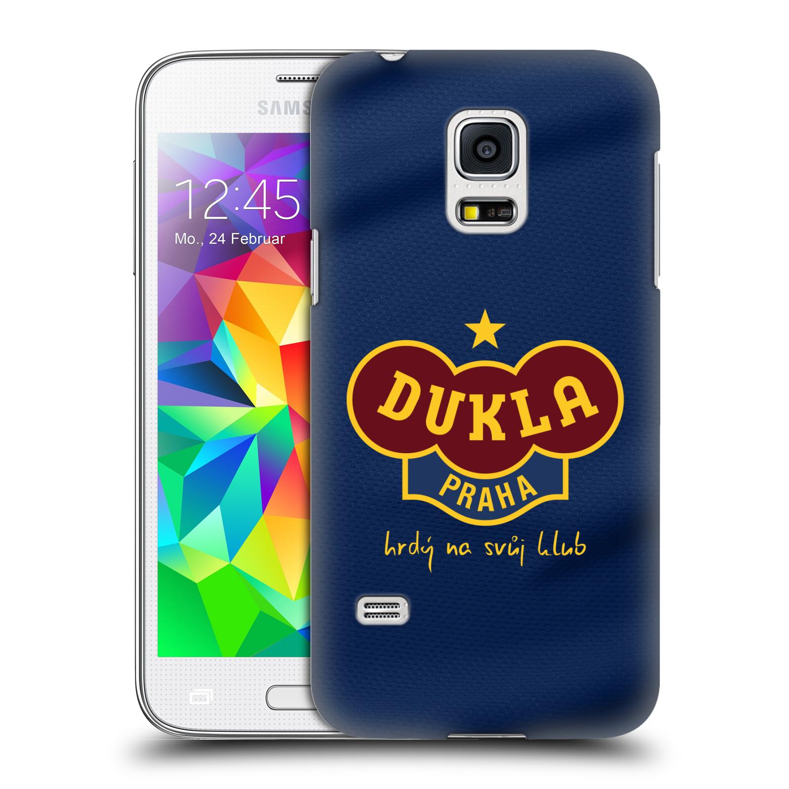Plastové pouzdro na mobil Samsung Galaxy S5 Mini - FK Dukla Praha - Modrý dres