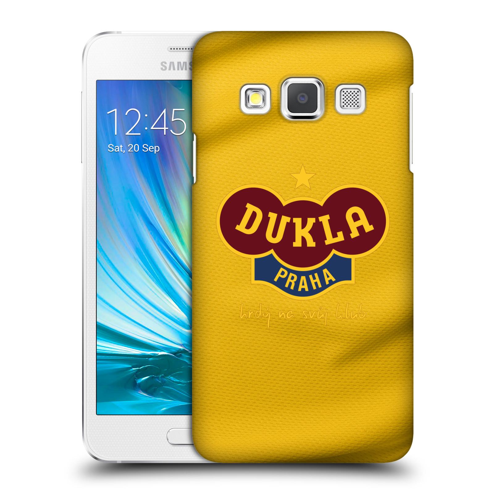 Plastové pouzdro na mobil Samsung Galaxy A3 - FK Dukla Praha - Žlutý dres
