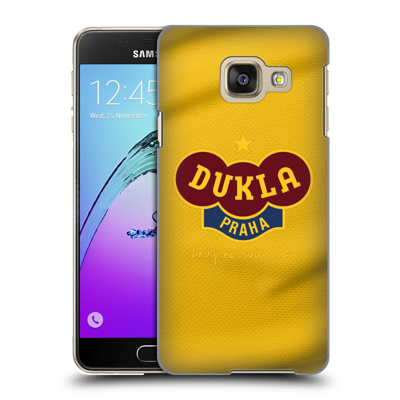 Plastové pouzdro na mobil Samsung Galaxy A3 (2016) - FK Dukla Praha - Žlutý dres