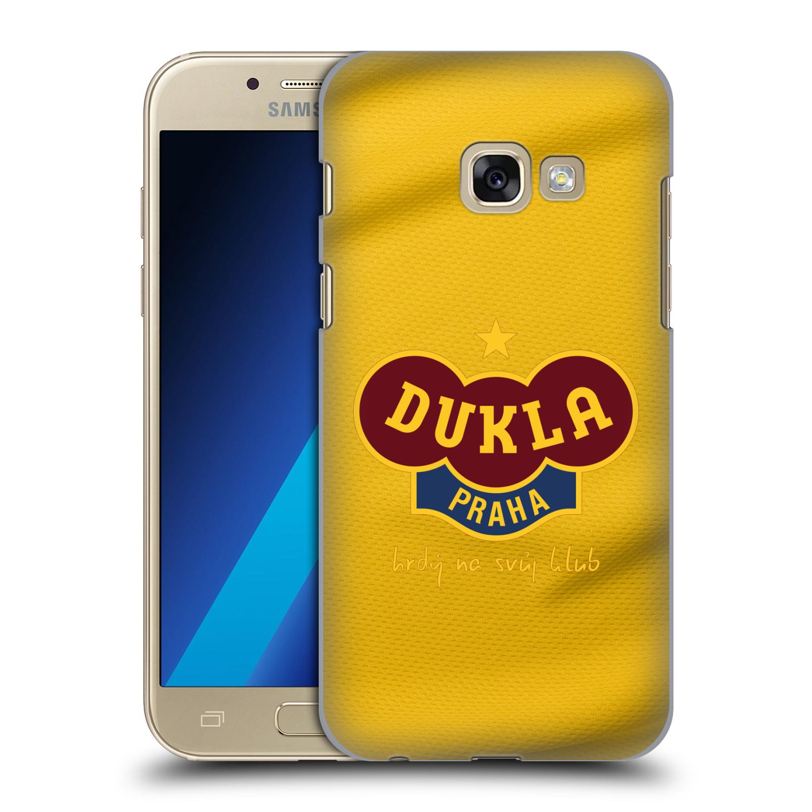 Plastové pouzdro na mobil Samsung Galaxy A3 (2017) - FK Dukla Praha - Žlutý dres