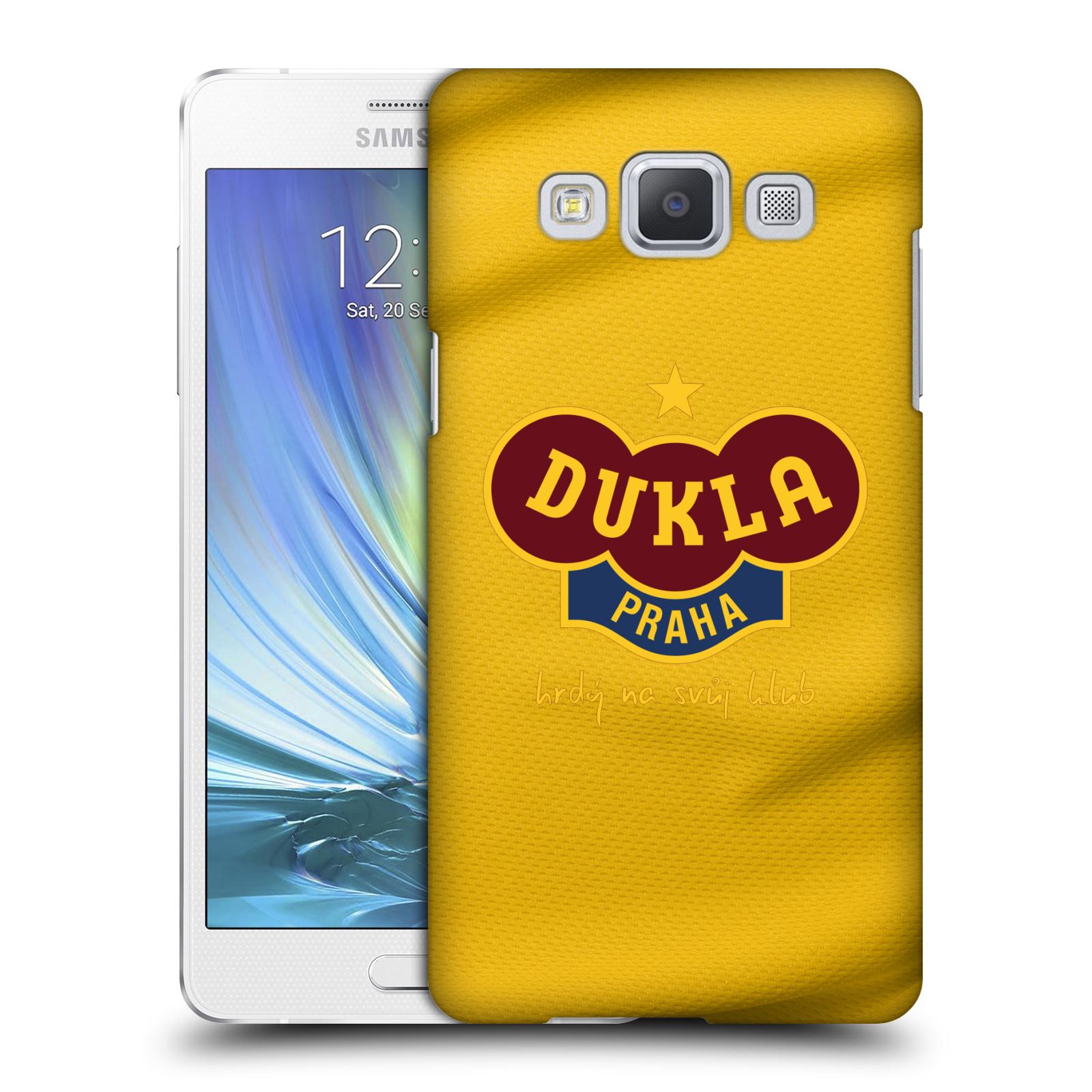 Plastové pouzdro na mobil Samsung Galaxy A5 - FK Dukla Praha - Žlutý dres