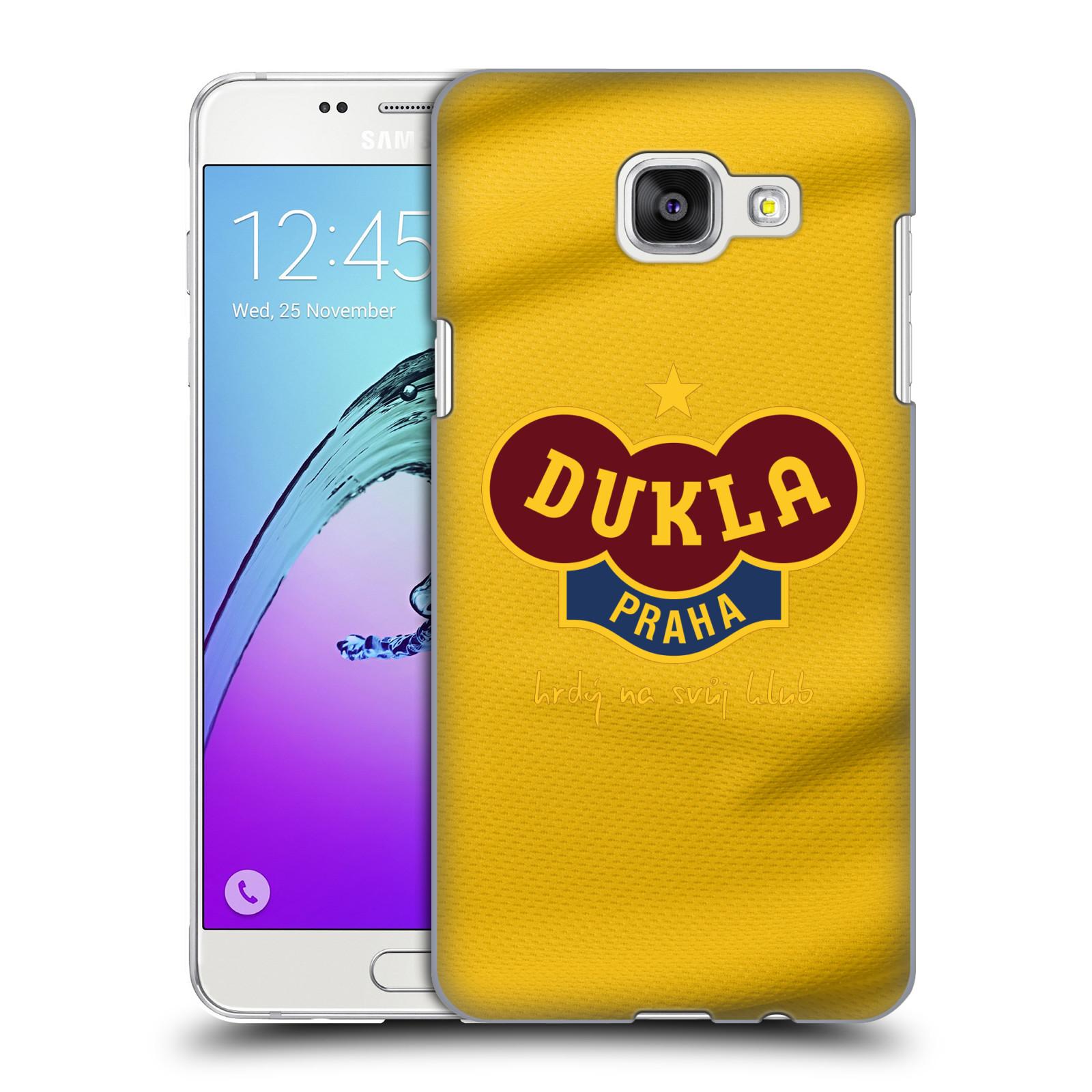 Plastové pouzdro na mobil Samsung Galaxy A5 (2016) - FK Dukla Praha - Žlutý dres