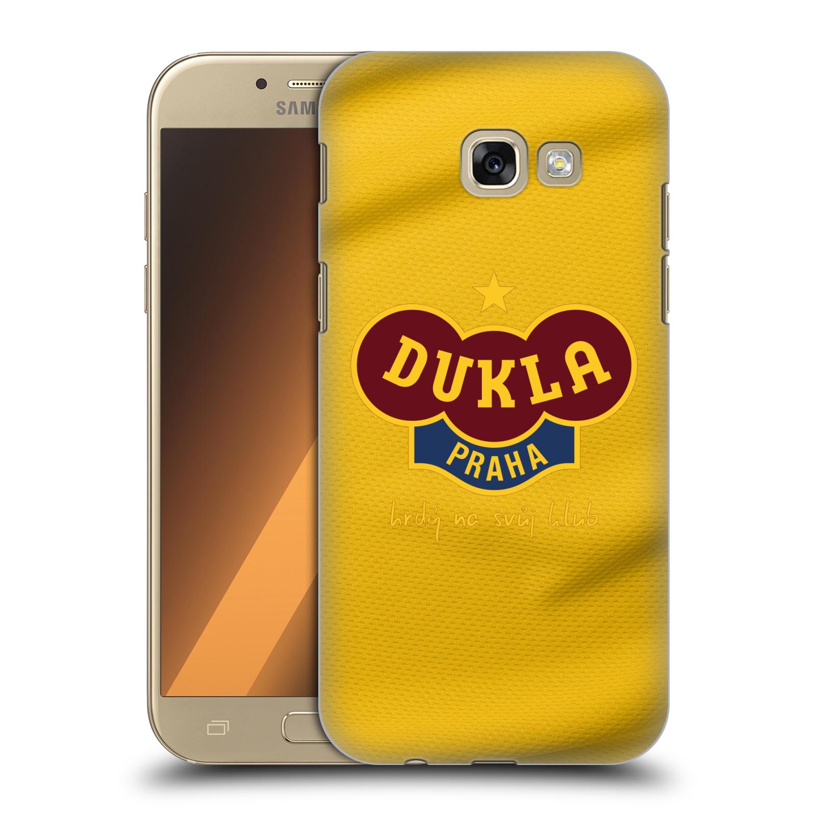 Plastové pouzdro na mobil Samsung Galaxy A5 (2017) - FK Dukla Praha - Žlutý dres