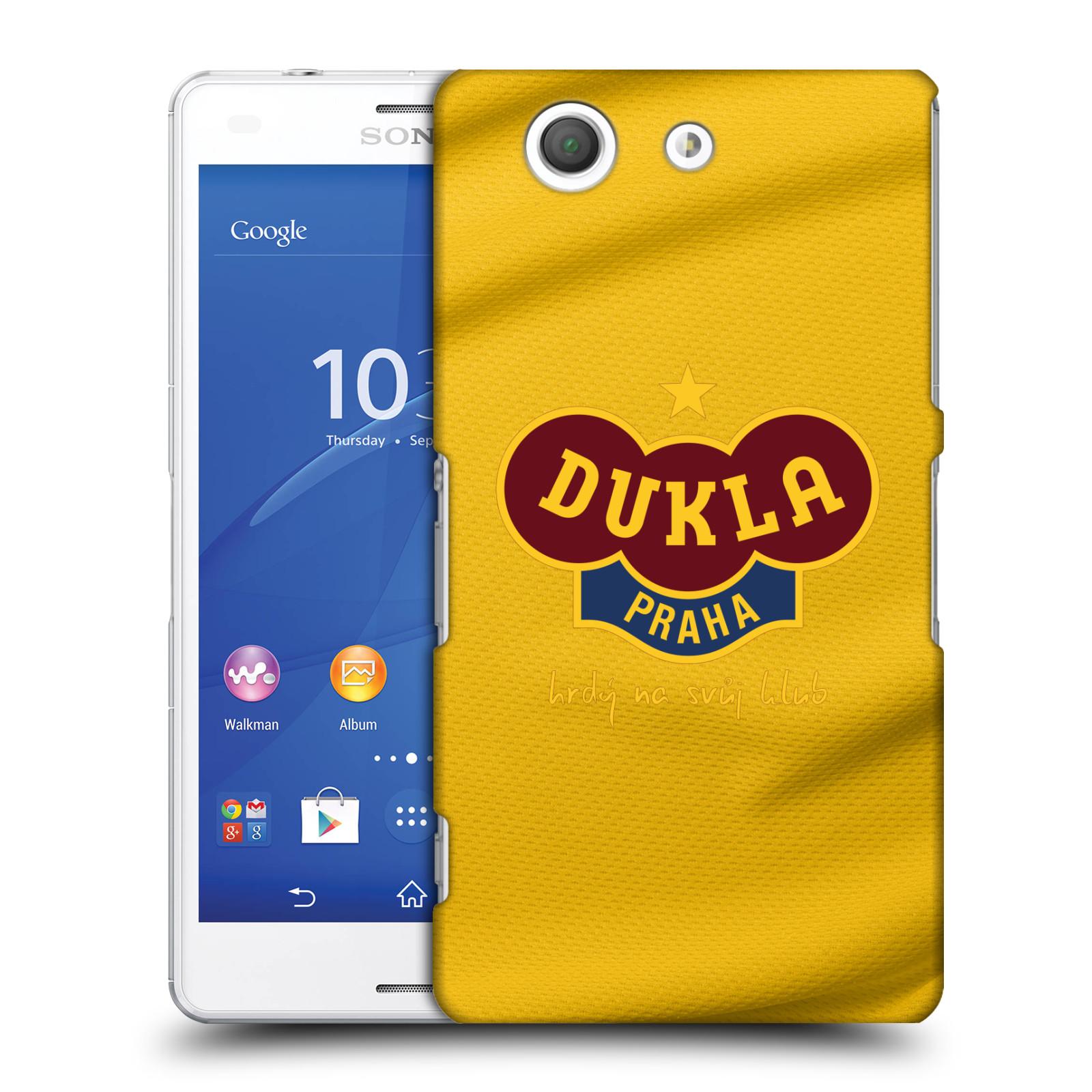 Plastové pouzdro na mobil Sony Xperia Z3 Compact D5803 - FK Dukla Praha - Žlutý dres
