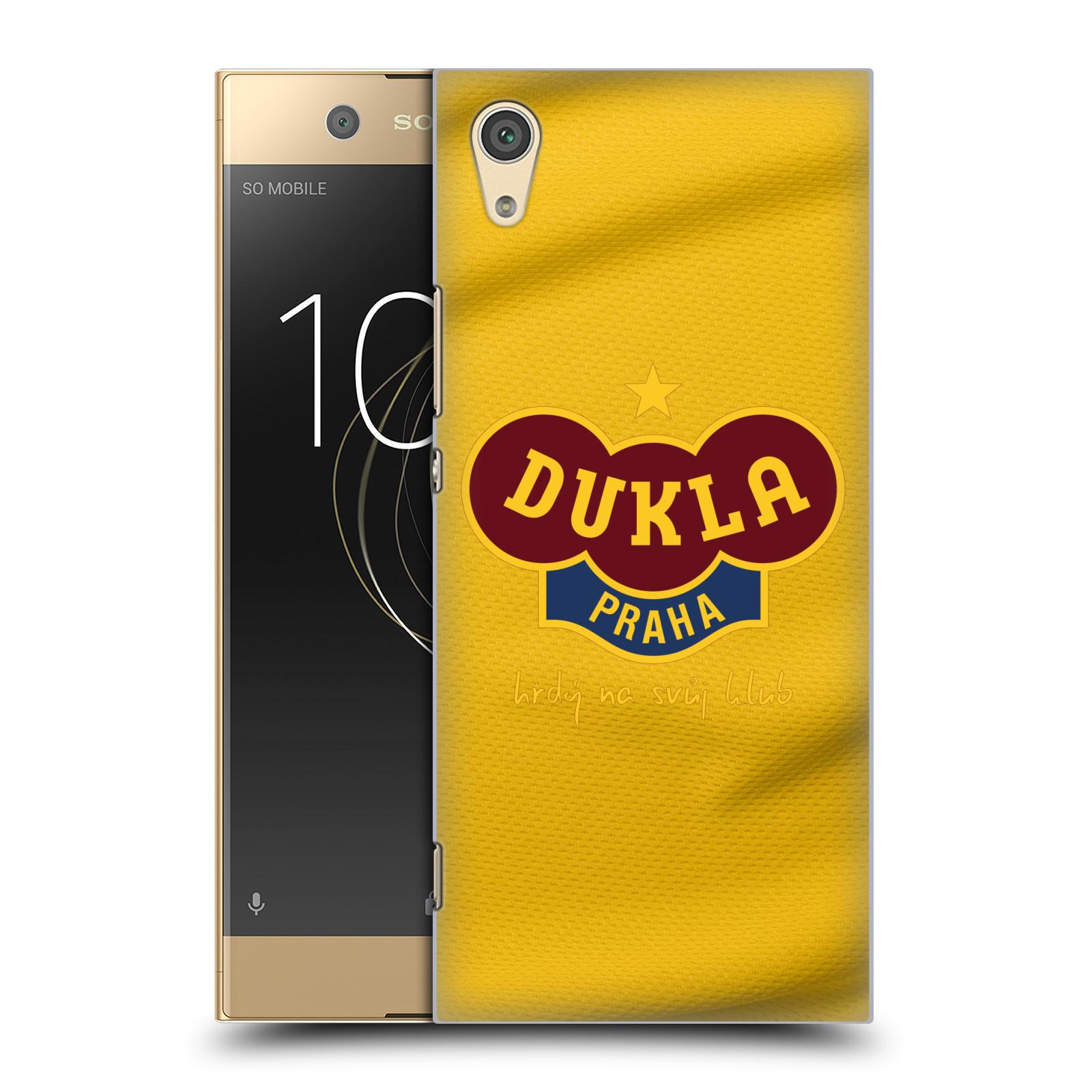 Plastové pouzdro na mobil Sony Xperia XA1 - FK Dukla Praha - Žlutý dres