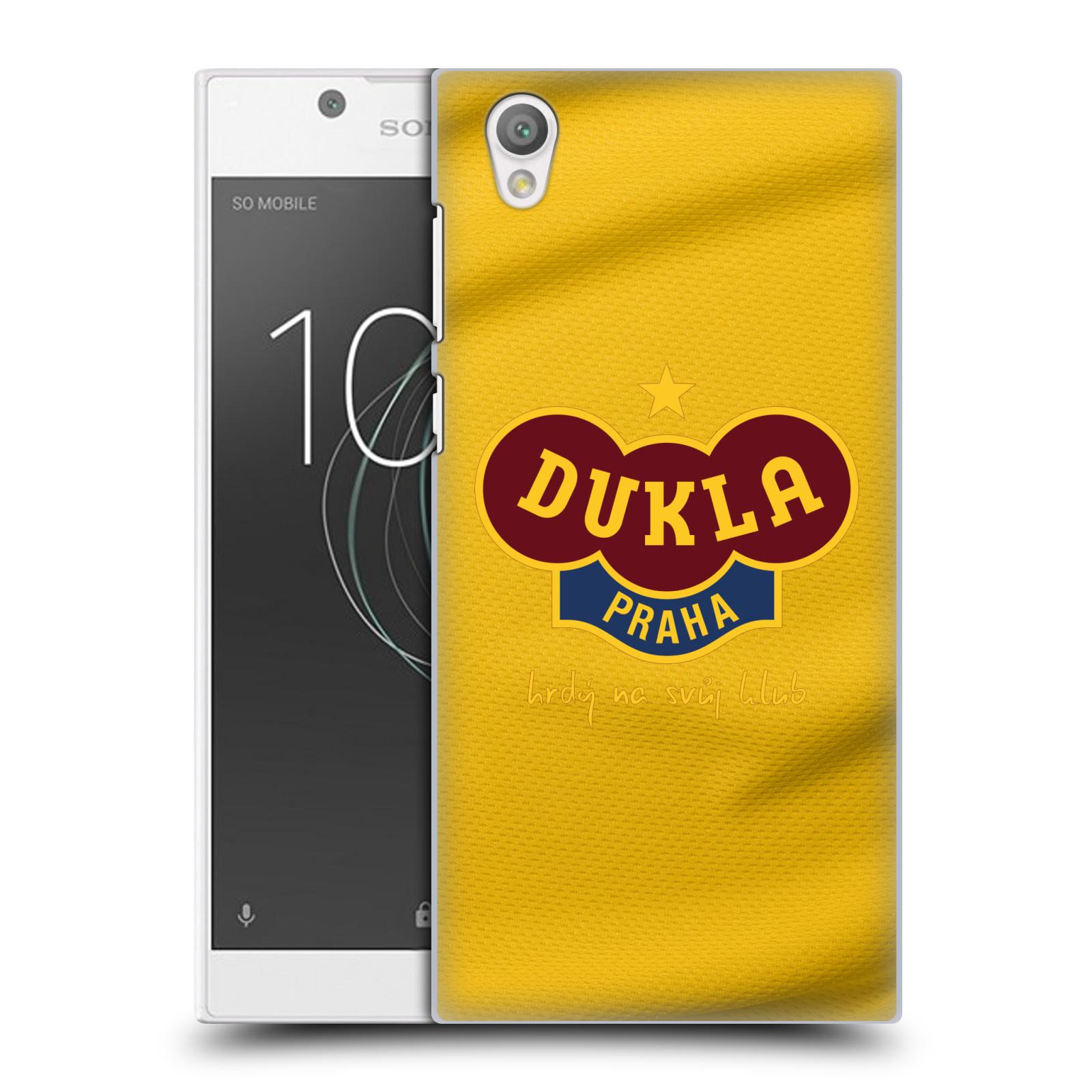 Plastové pouzdro na mobil Sony Xperia L1 - FK Dukla Praha - Žlutý dres