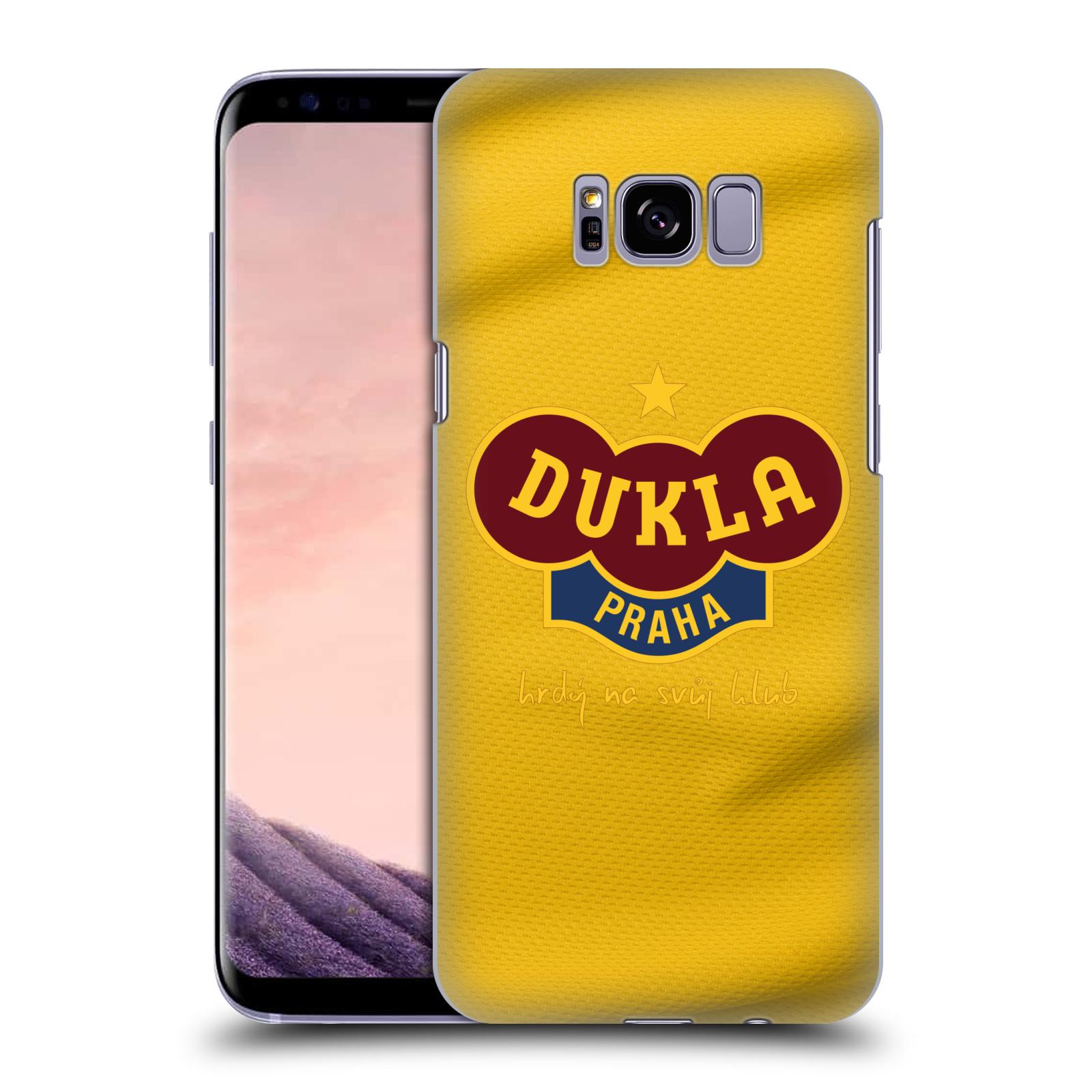 Plastové pouzdro na mobil Samsung Galaxy S8+ (Plus) - FK Dukla Praha - Žlutý dres